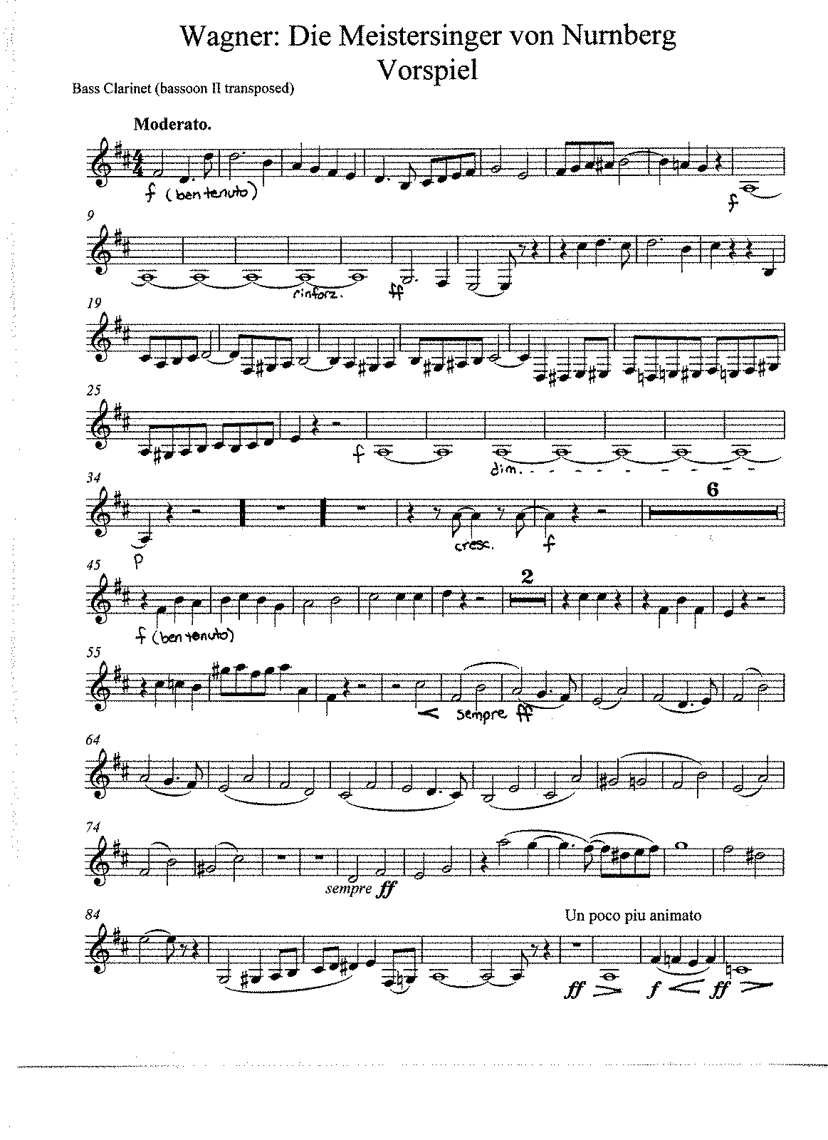 PMLP16799-Wagner Die Meistersinger 2nd basson transposed to bass clar..pdf