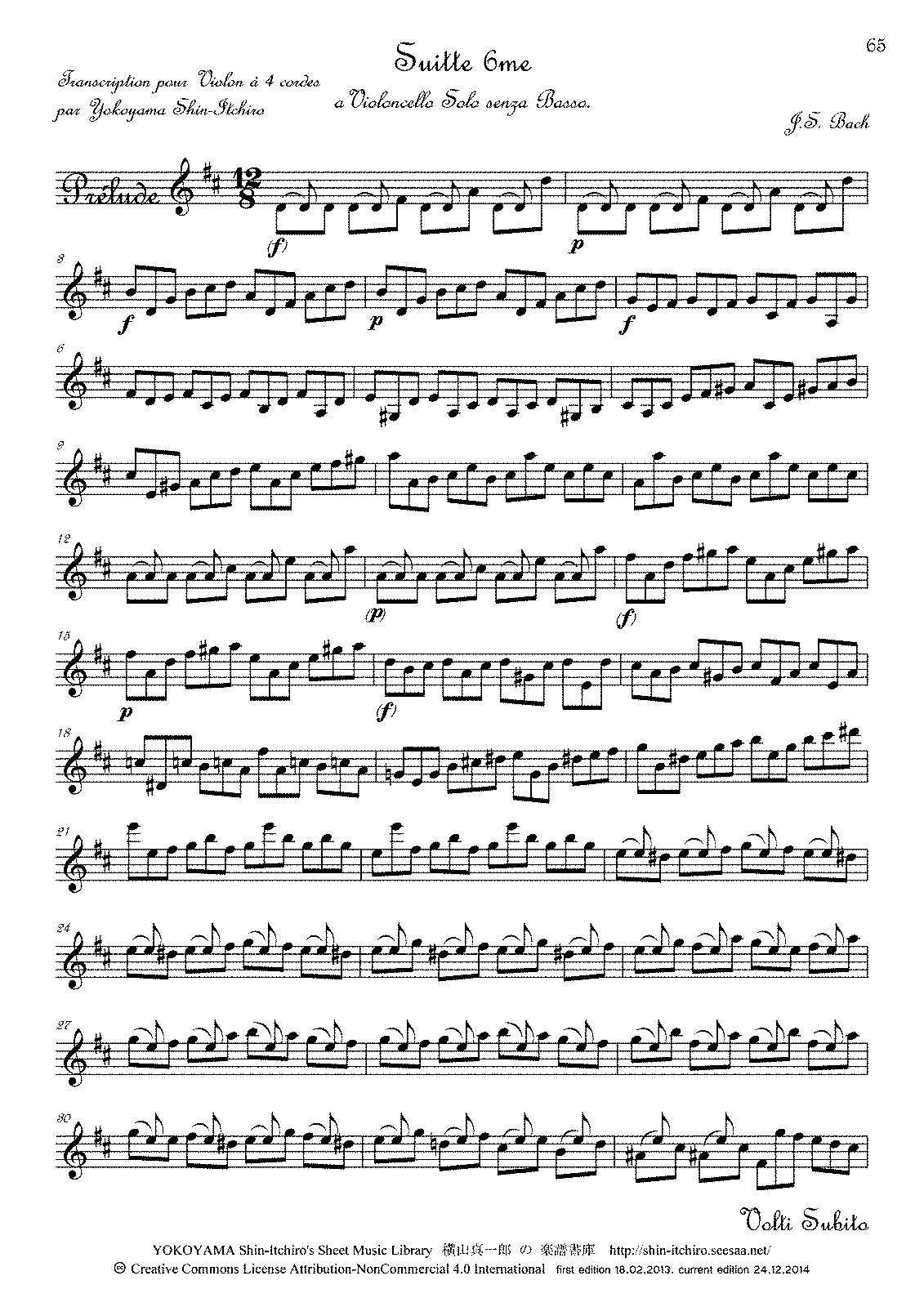 PMLP164354-Bach 6th Suite for Cello Solo in D major without slurs for Violin.pdf