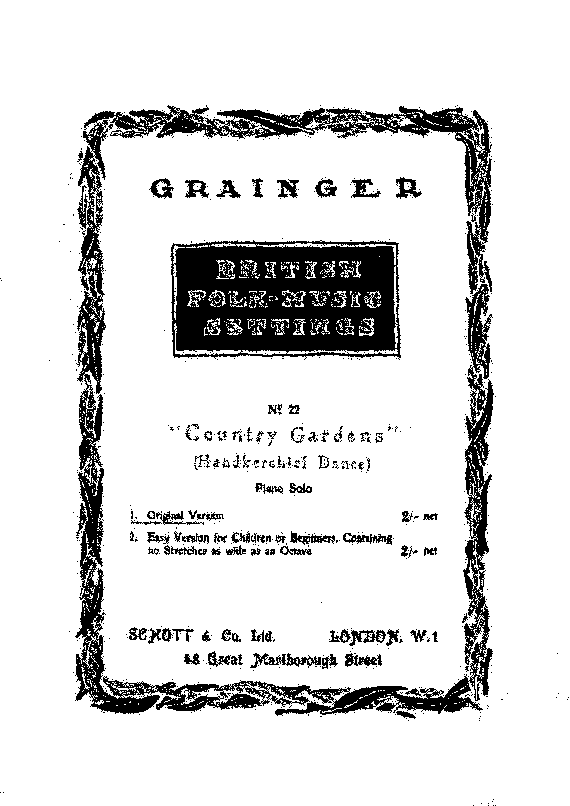 PMLP329184-Grainger - British Folk Music Settings no 22 - Country Gardens - Schott Edition.pdf