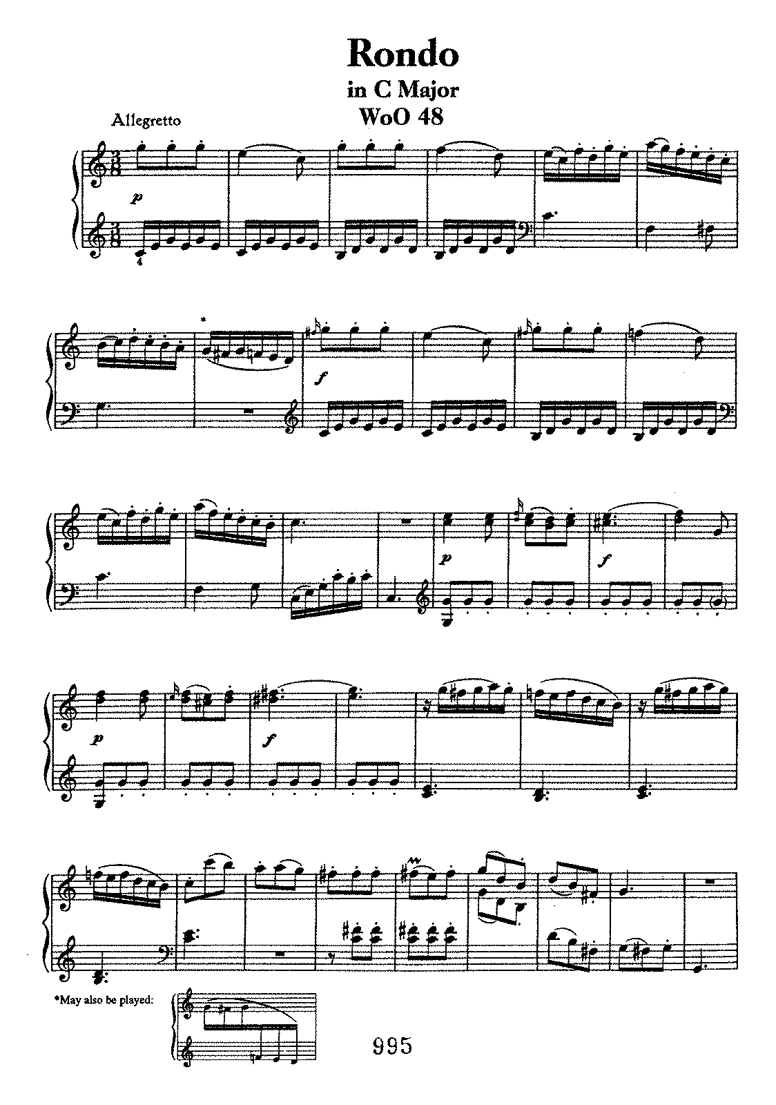 Beethoven woo48 Rondo in C.pdf