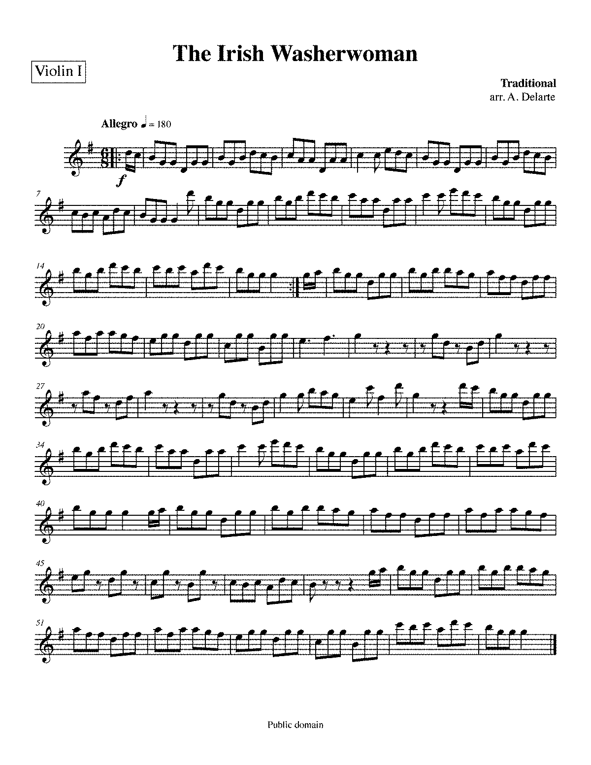 PMLP173362-Irish Washerwoman - Violin I.pdf