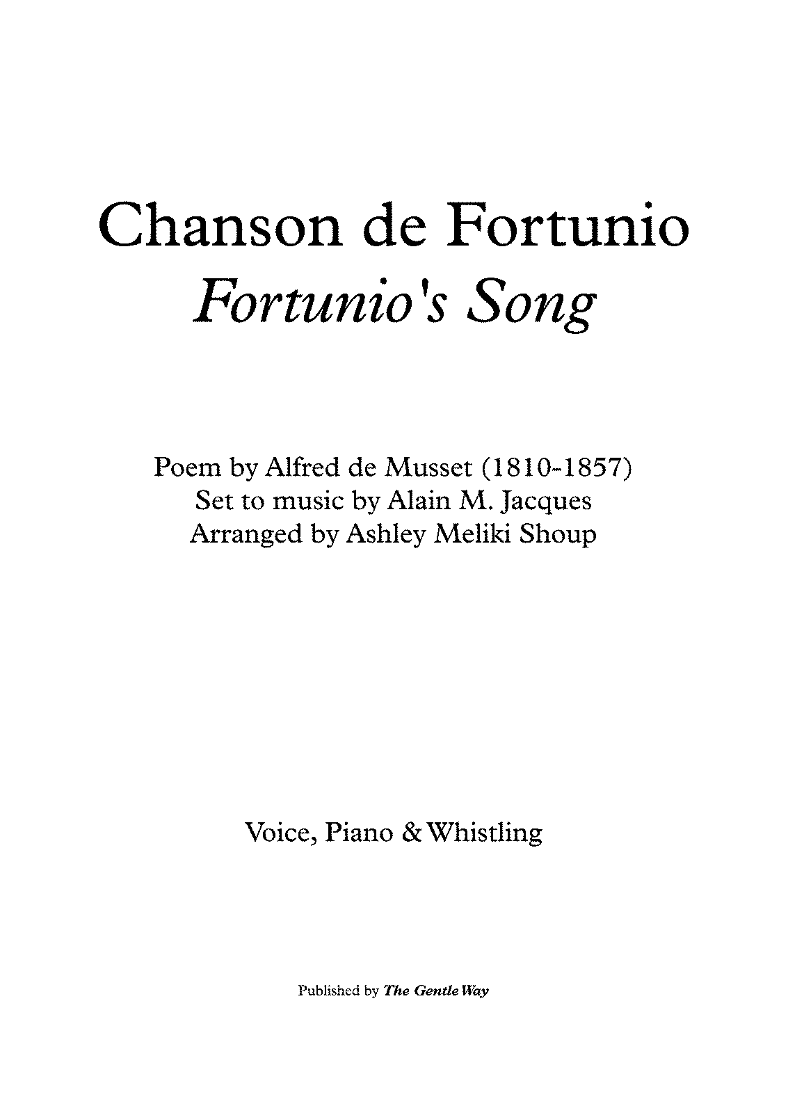 PMLP449264-Chanson de Fortunio (A. Jacques - A. de Musset) - bilingual - piano & whisttle - Full Score.pdf