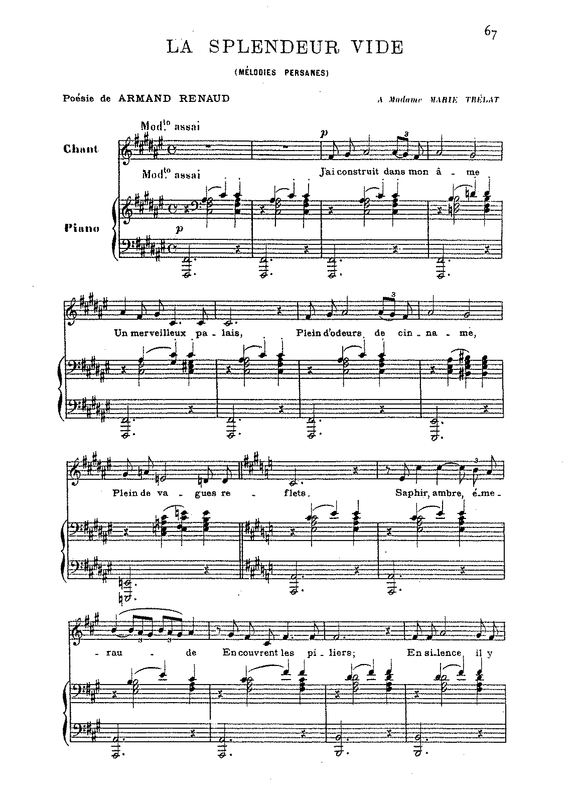 PMLP50419-Saint-Saëns - Mélodies Persanes - 2. La splendeur vide (voice and piano).pdf
