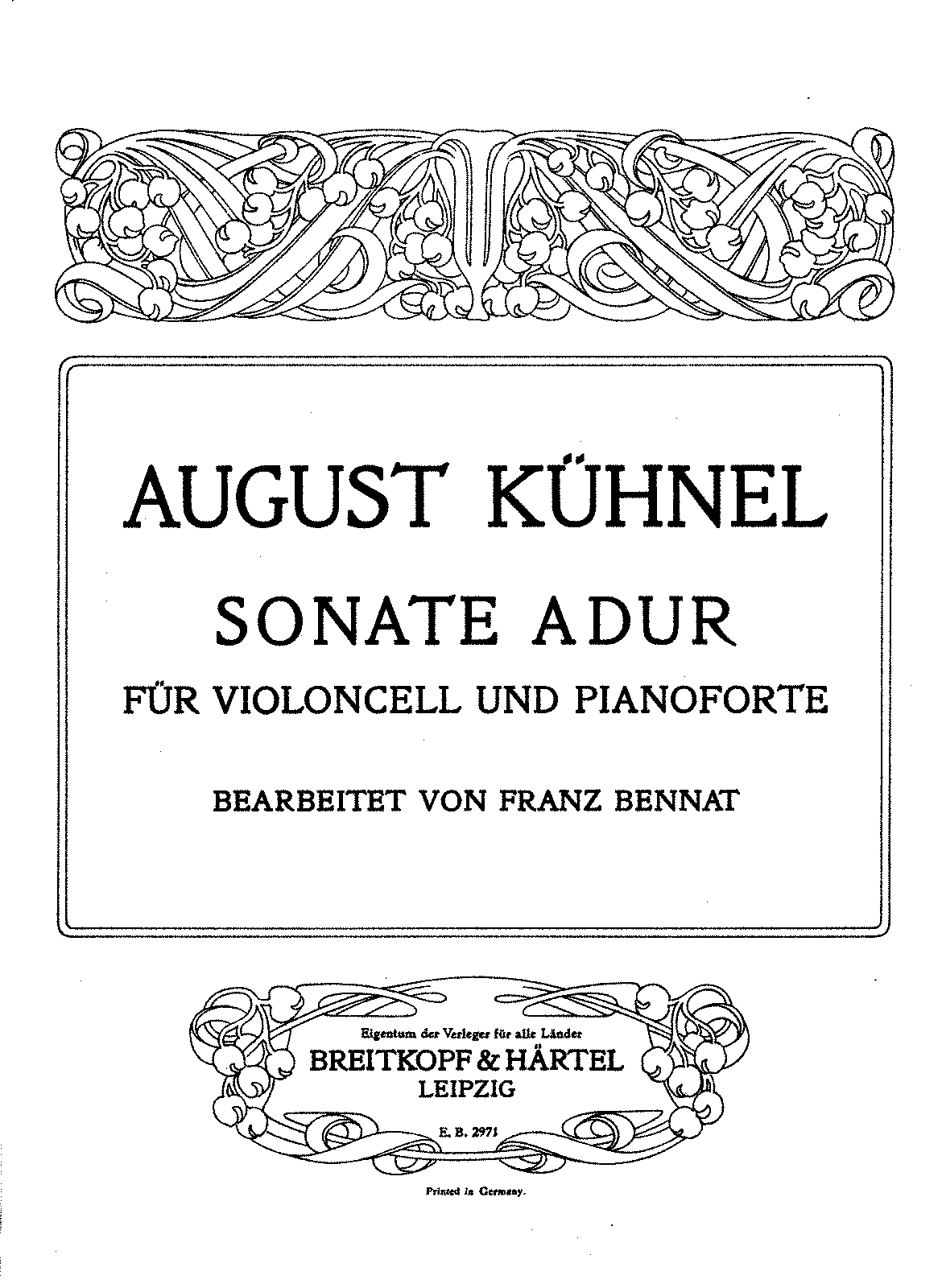 PMLP142443-Kuhnel - Sonata in A Major for Cello and Piano (Bennat) piano.pdf