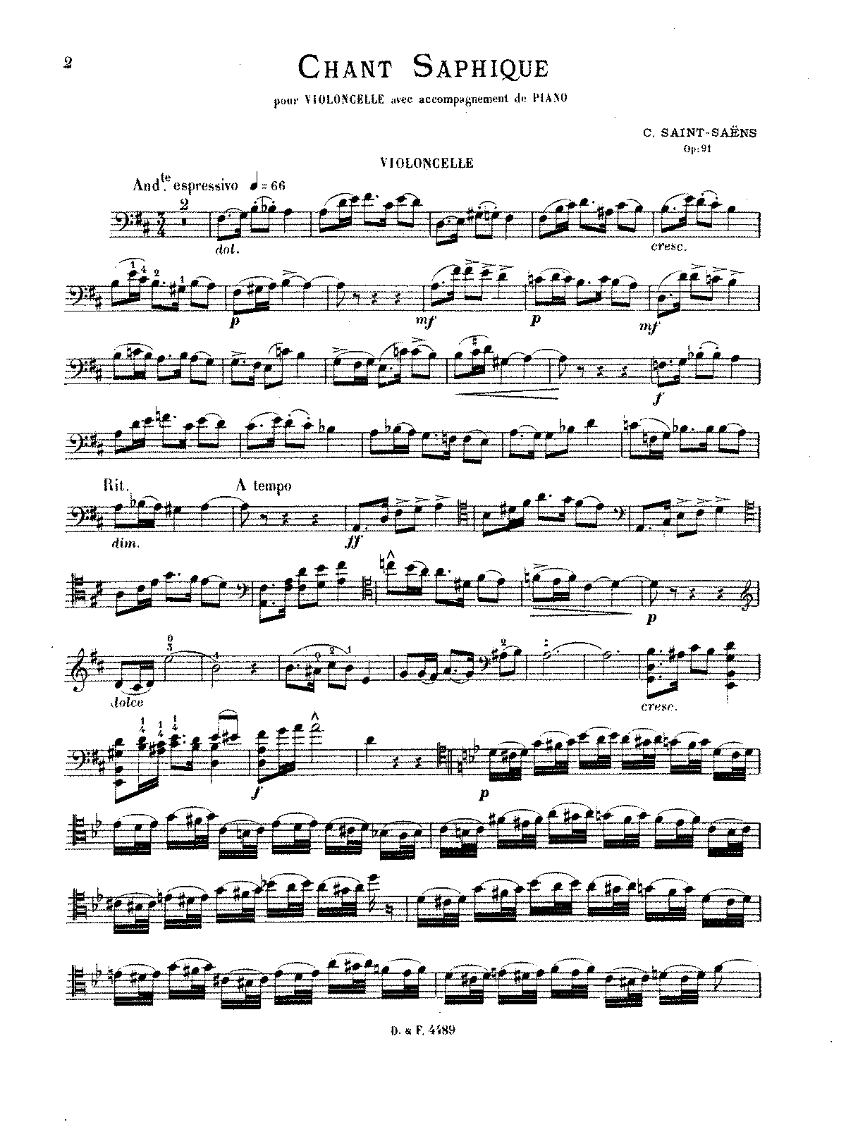 PMLP68999-Saint-Saëns - Chant saphique, Op. 91 (cello and piano).pdf