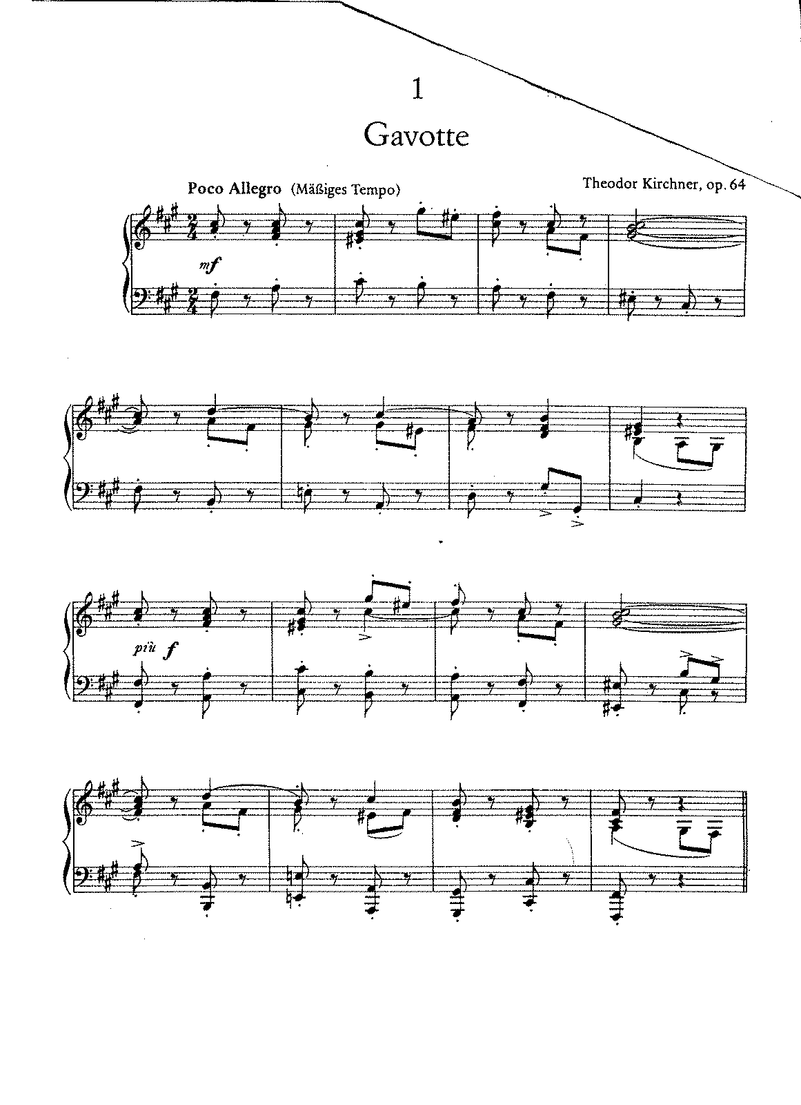 Kirchner - Op.64 -Gavotten, Menuetten, and Lyric Piece.pdf