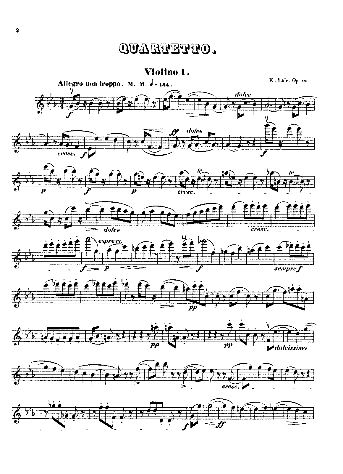 Lalo - String Quartet, Op.19 (parts).pdf