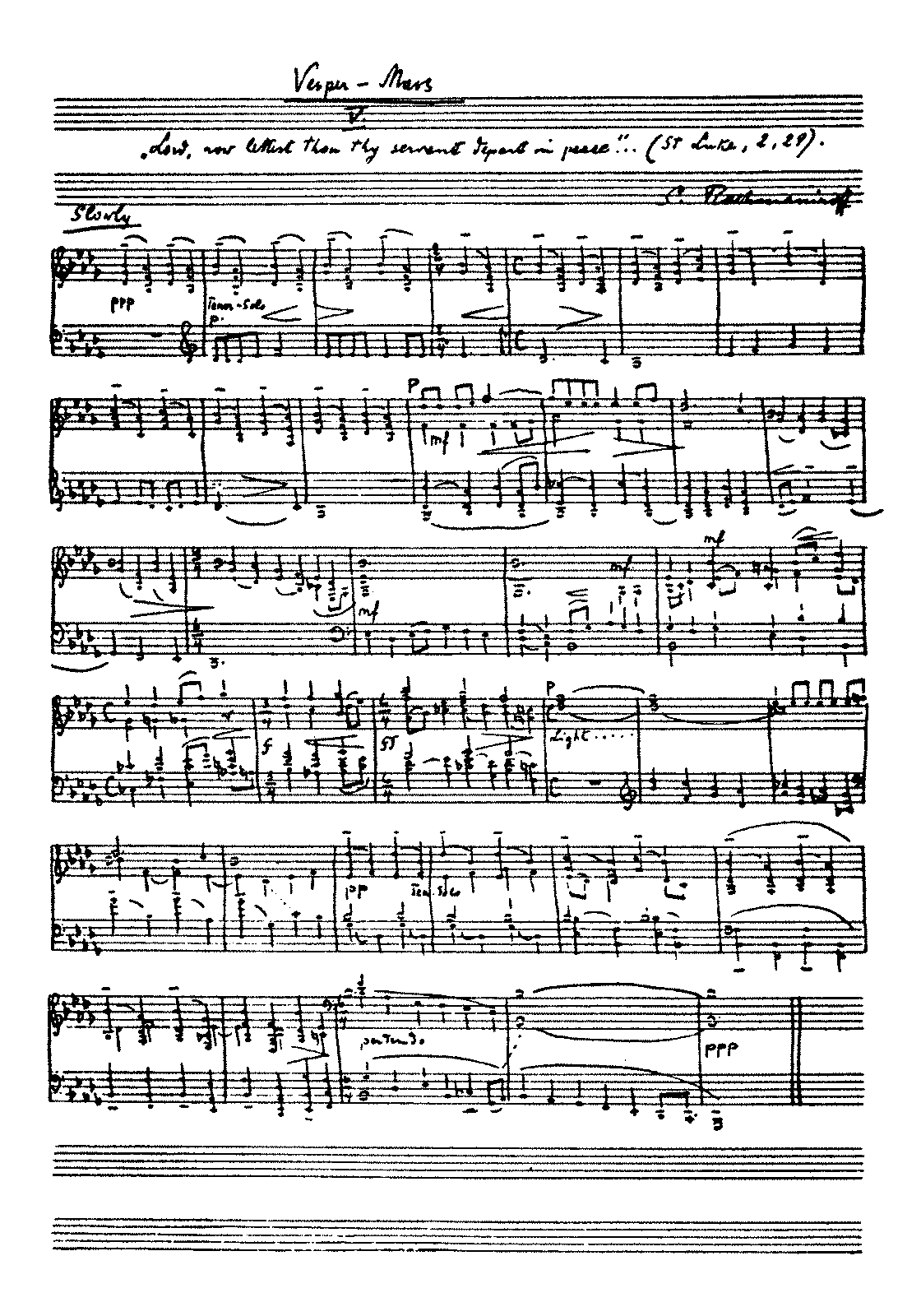 PMLP28683-Rachmaninoff All-Night Vigil, Nunc dimittis, Op.37 No.5 - piano solo (MS).pdf