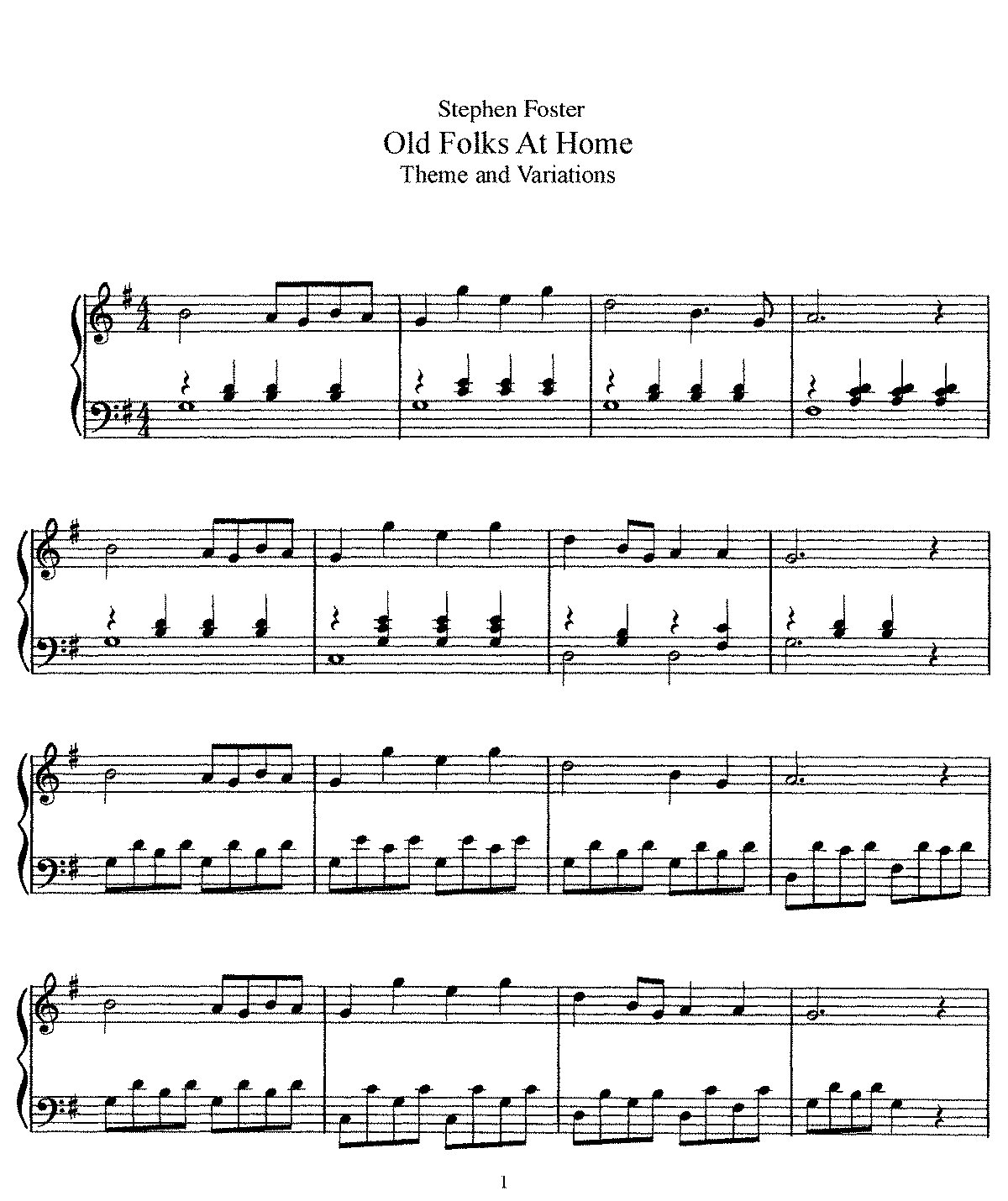 Foster - Variations on Old Folks at Home.pdf