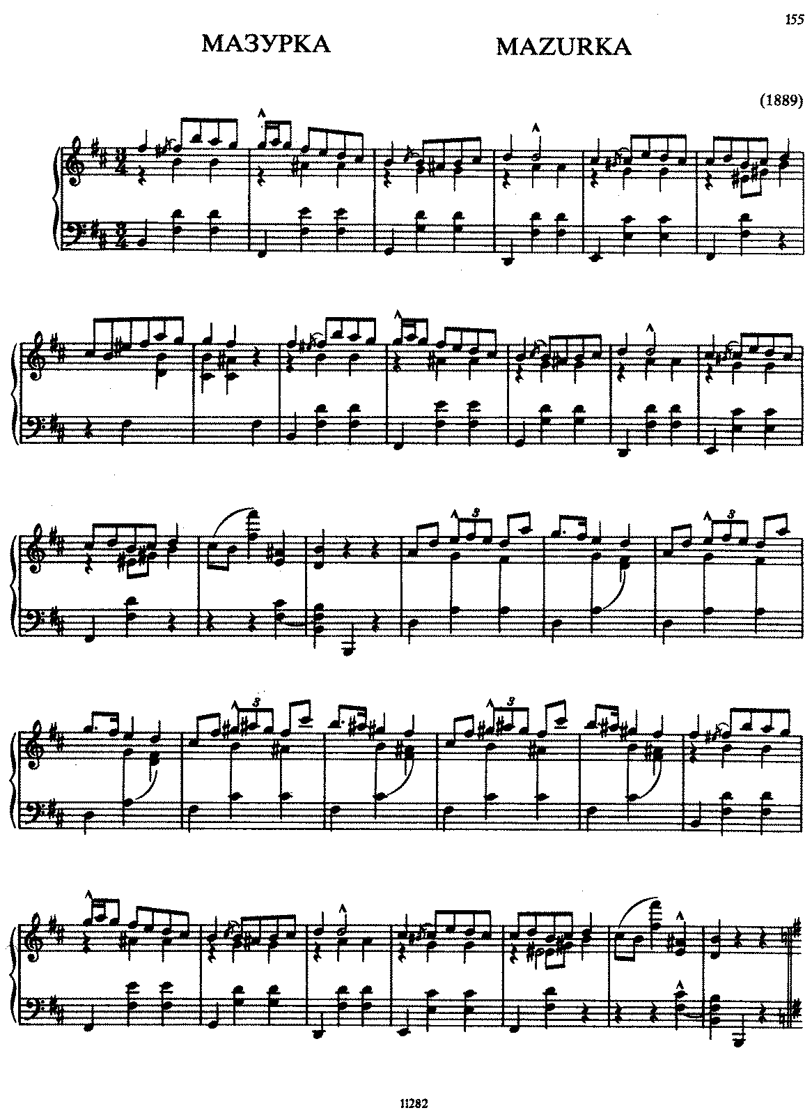 Scriabin - Op.misc - Mazurka in B minor (1889).pdf