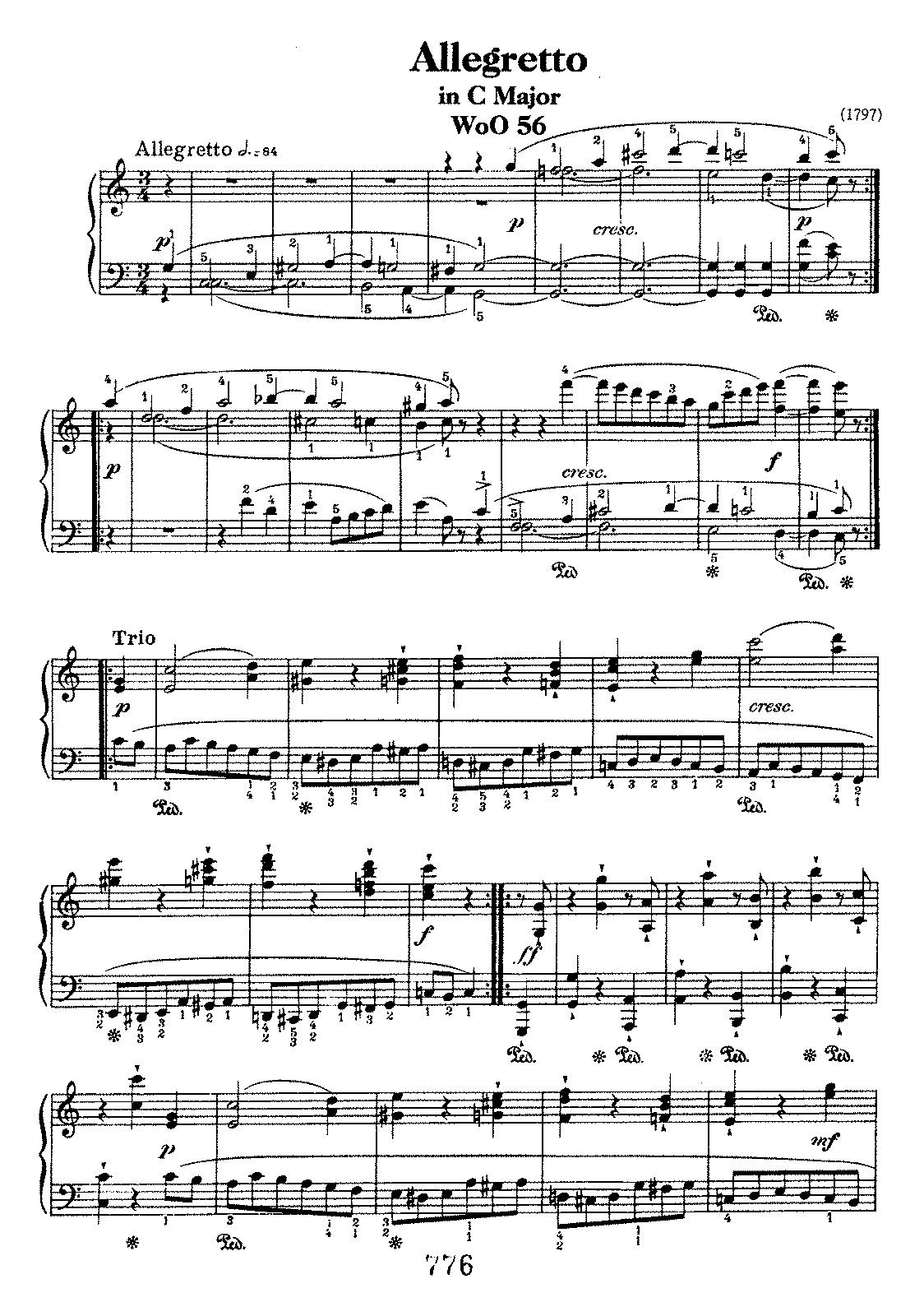 Beethoven woo56 Allegretto in C.pdf