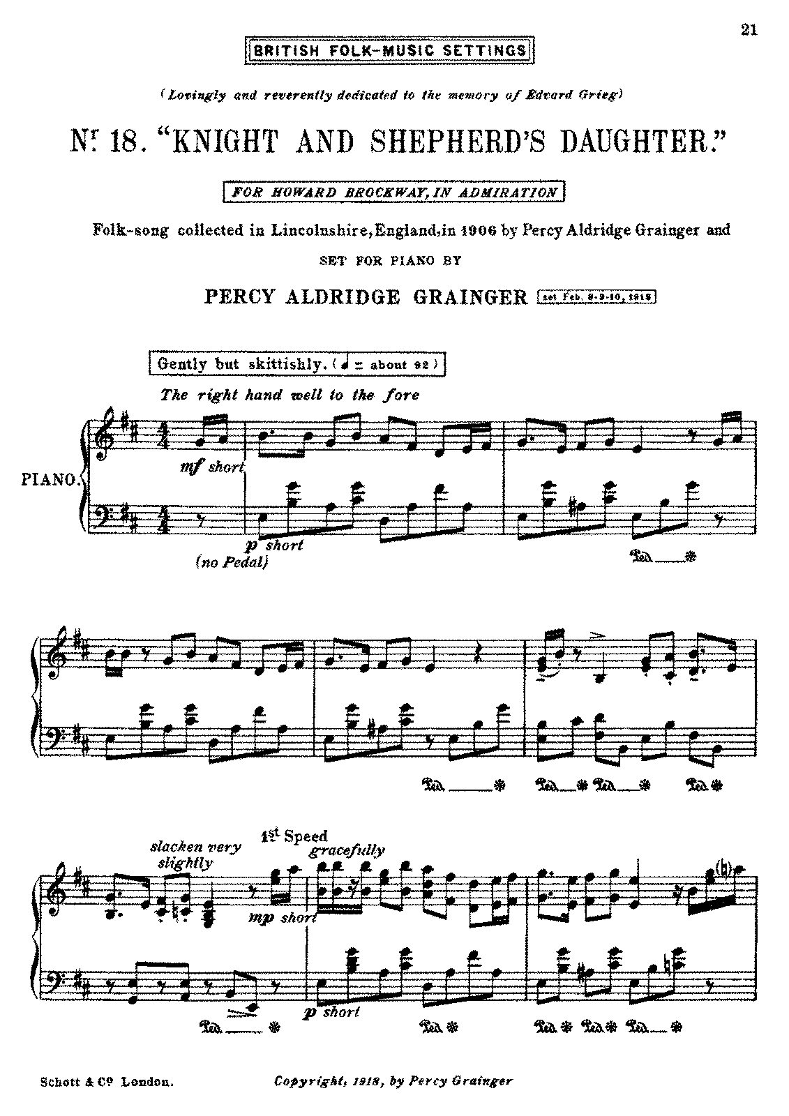 PMLP329184-Grainger - British Folk Music Settings no 18 - Knight and Shepherds Daughter - Schott Edition.pdf