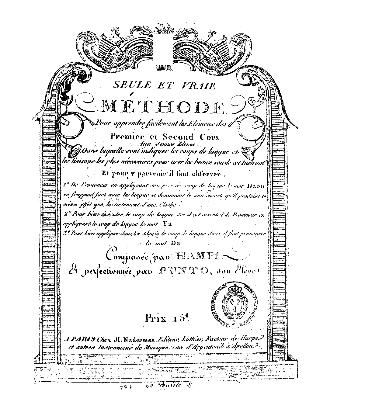 PMLP140927-Hampel-Punto, Méthode - Paris; H. Naderman.pdf