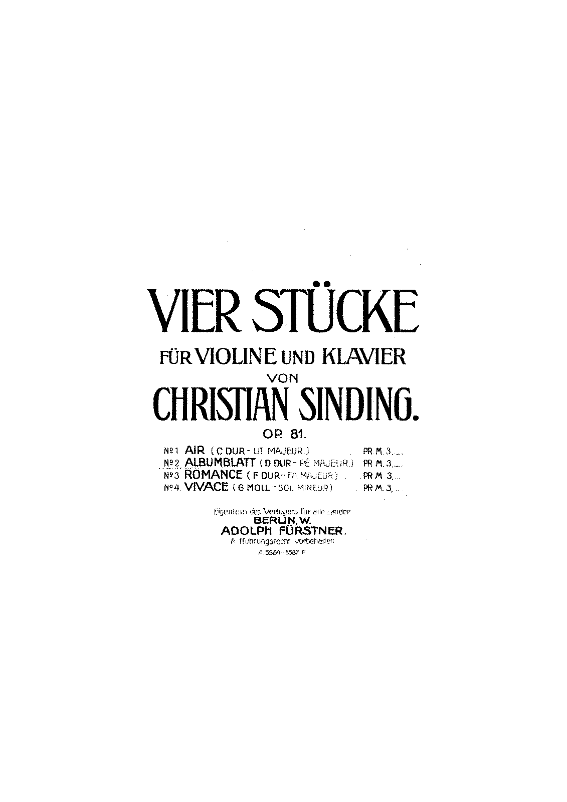 Sinding - Albumblatt for Violin & Piano.pdf