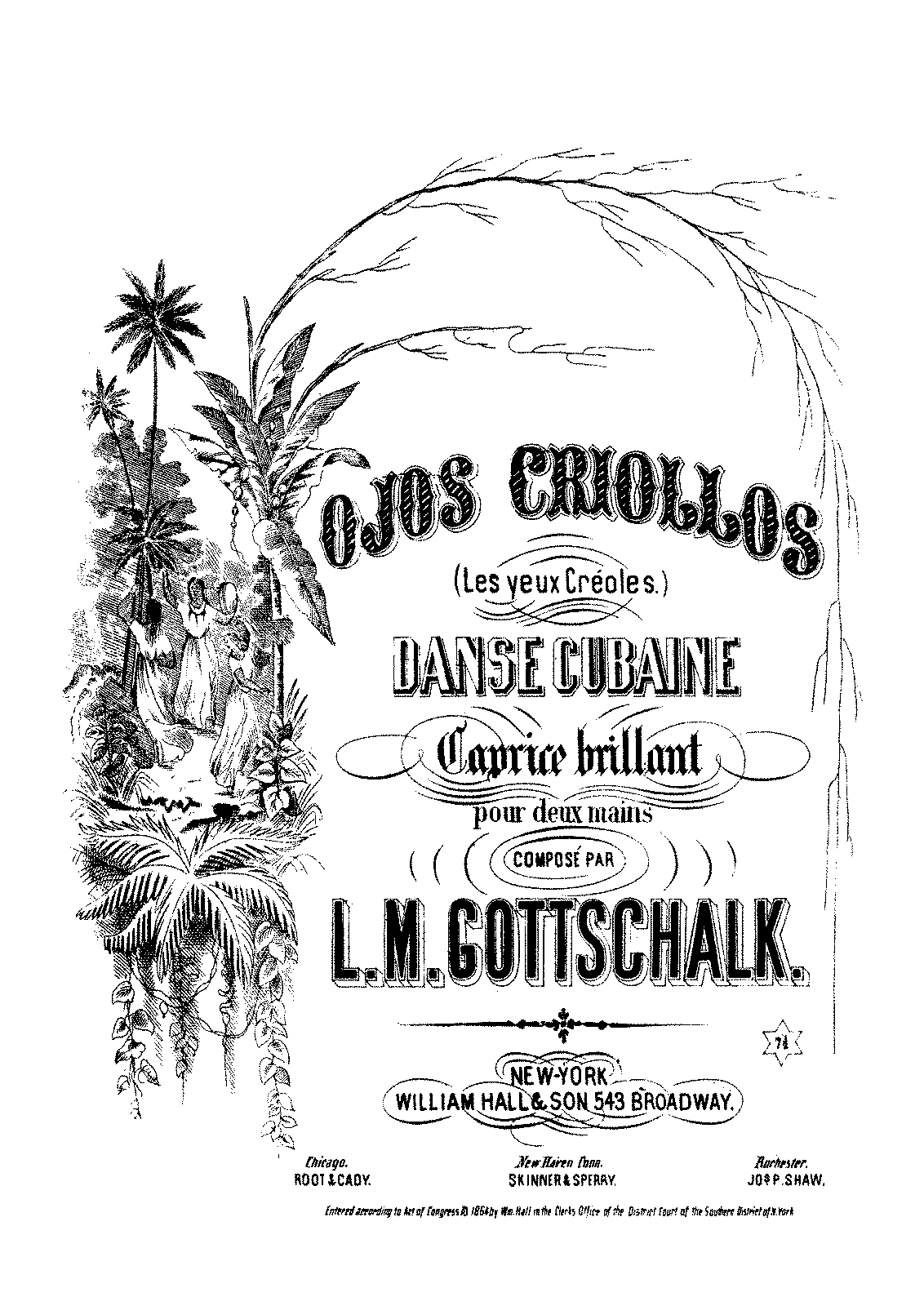 PMLP18719-Gottschalk - 37 Ojos Criollos - William Hall - 1864.pdf