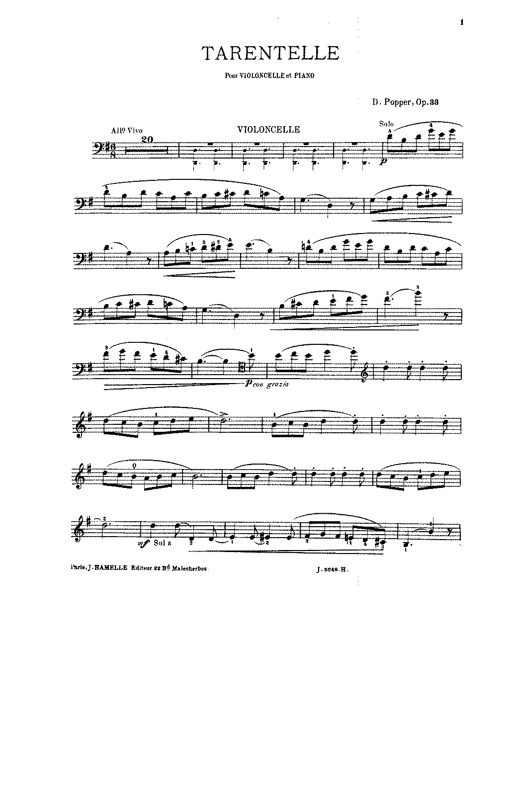 PMLP49776-Popper - Tarantella No1 Op33 in G major for cello and piano PNO.pdf