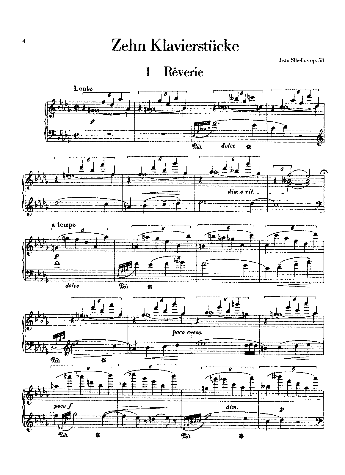 Sibelius - 10 Pieces, Op.58 (piano).pdf