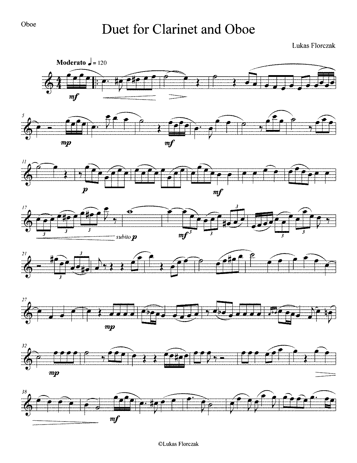 PMLP429847-Duet for Clarinet and Oboe - Oboe.pdf