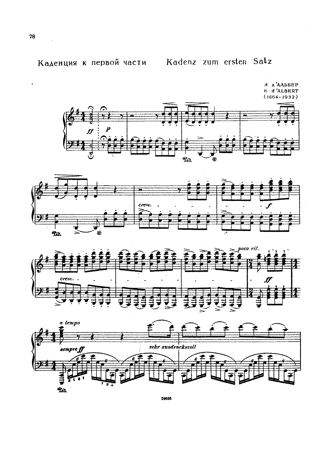 Beethoven-d'Albert Cadenza for Concerto -4 in G.pdf