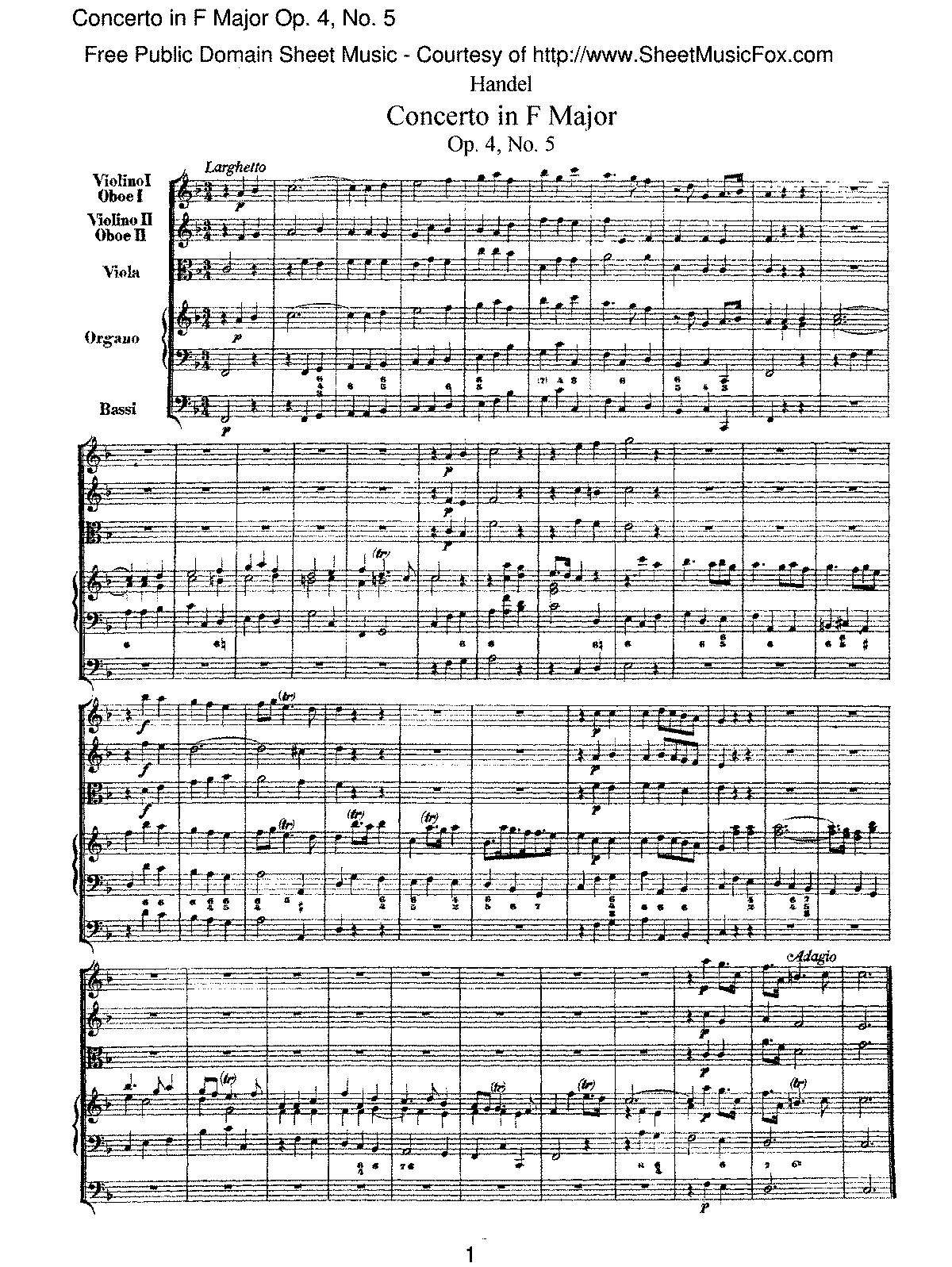 Handel - Concerto in F major, Op.4 No.5.pdf