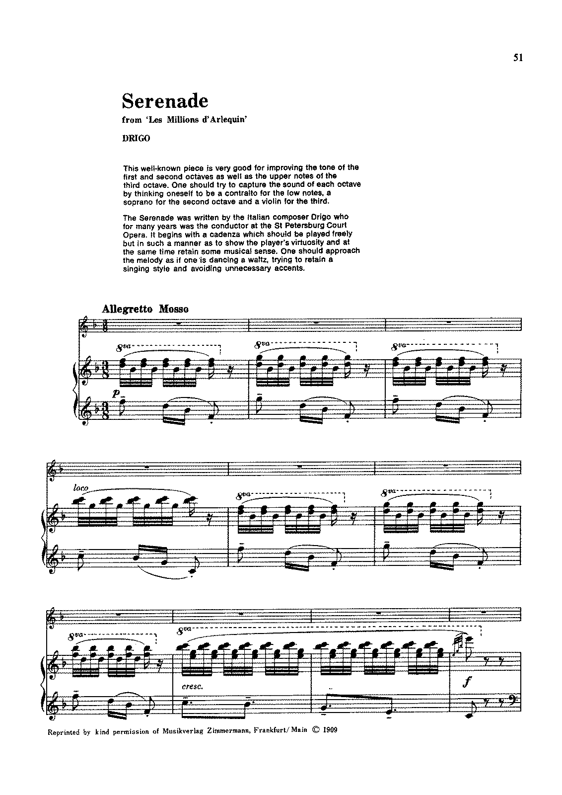 Drigo - Serenade for Flute and Piano.pdf