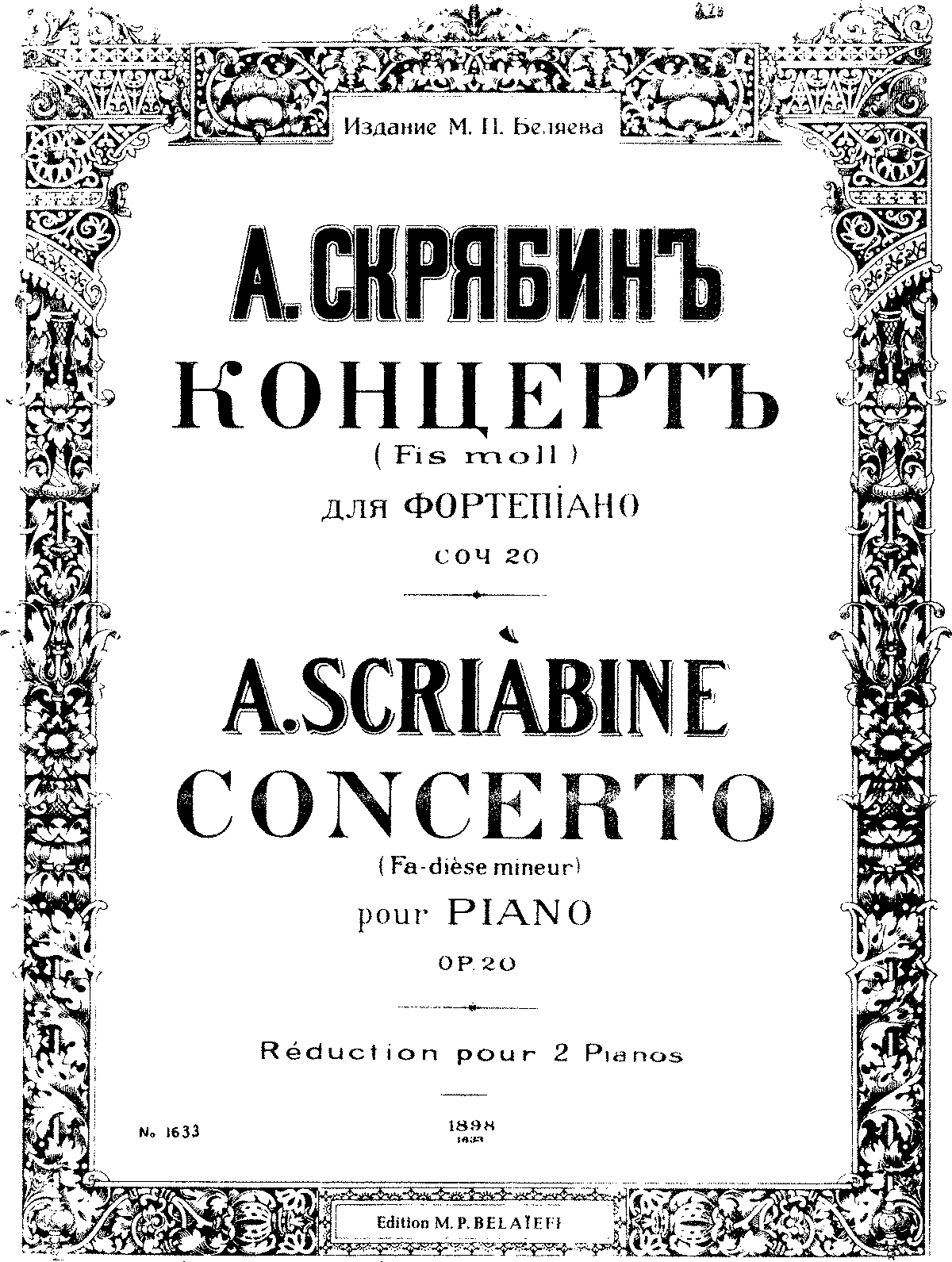 Scriabin - Concerto - Two pianos - Belaieff.pdf