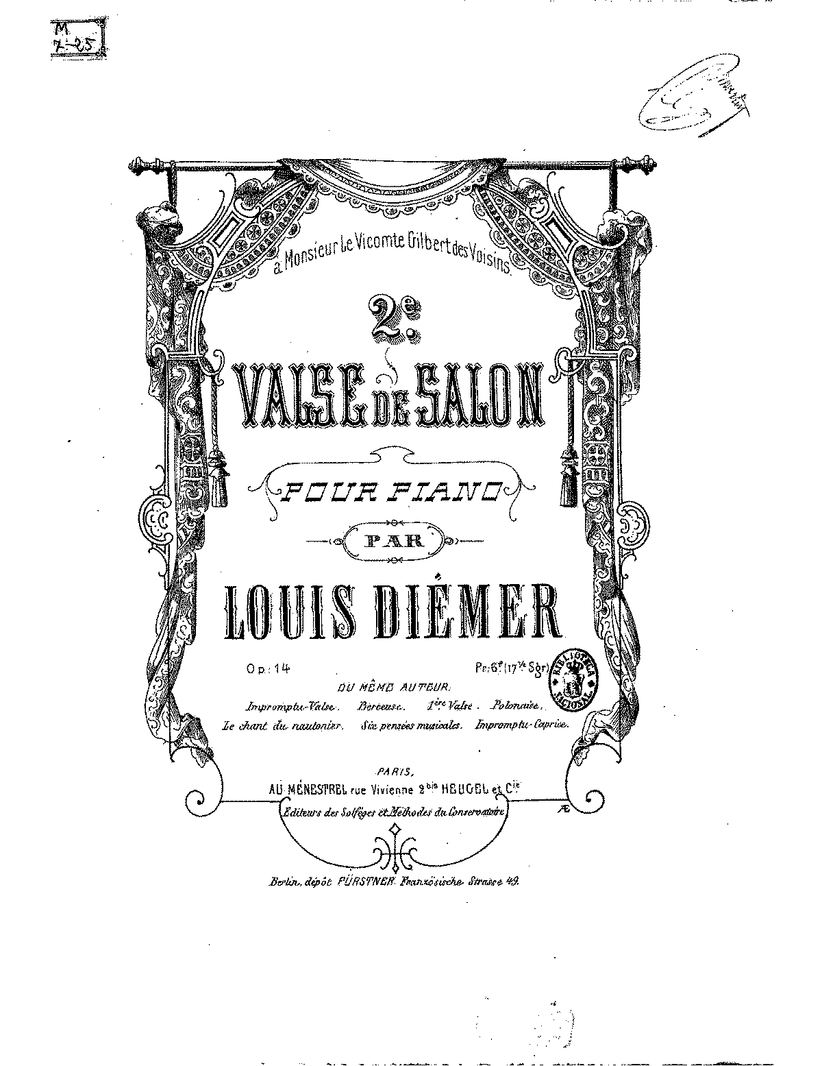 PMLP431465-LDiemer Valse de salon No.2, Op.14.pdf