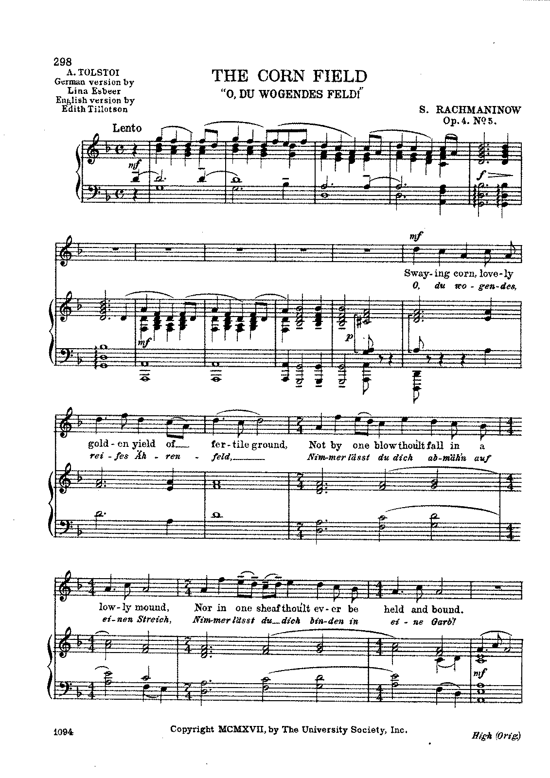Rachmaninov - 'The Corn Field' Op, 4, No. 5.pdf