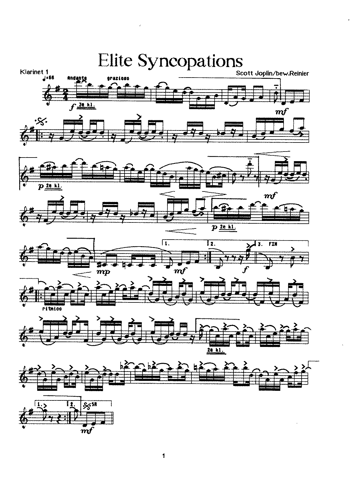 Scott Joplin - Elite Syncopations.pdf