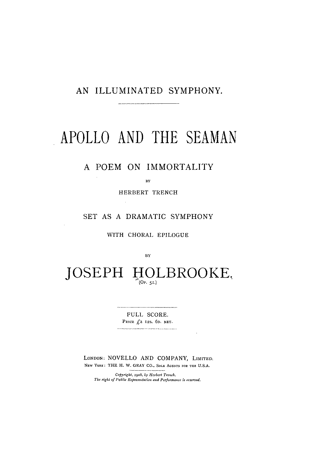 PMLP61062-Holbrooke - Symphony No 2 'Apollo and the Seaman' - 0 - Cover, Directions, Contents, Poem, Themes.pdf