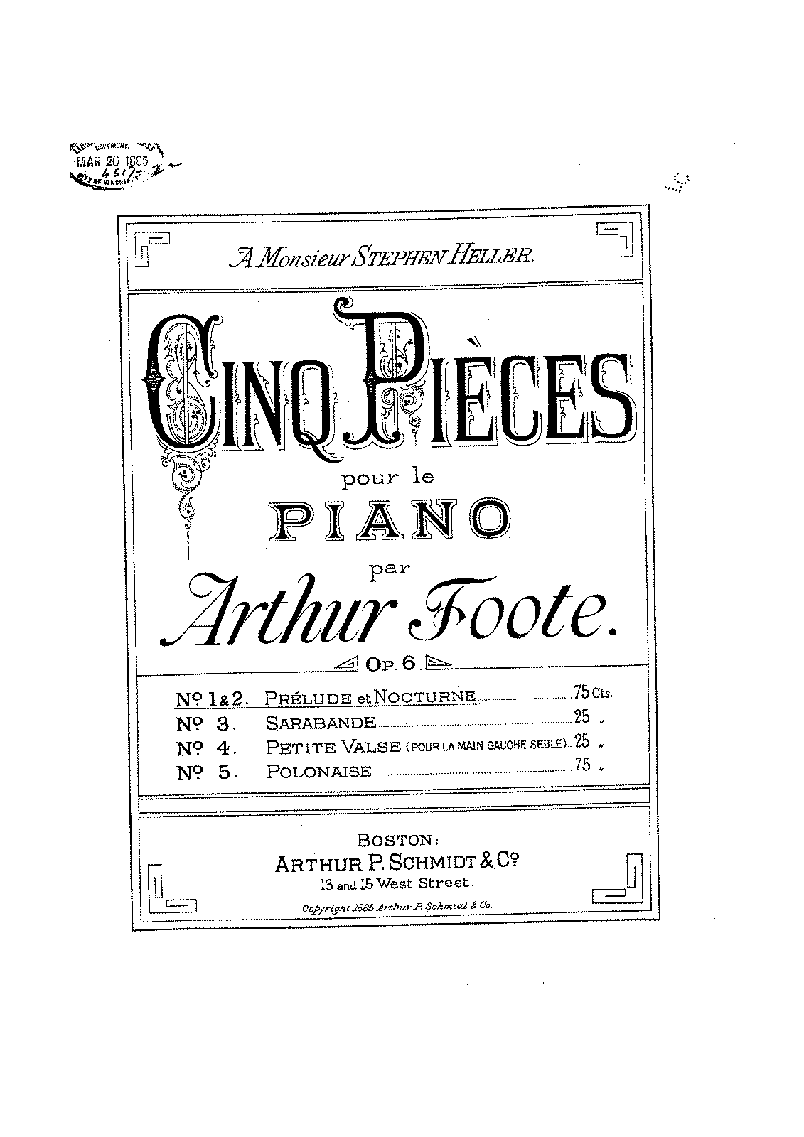 Foote op.06 Cinq Pieces.pdf