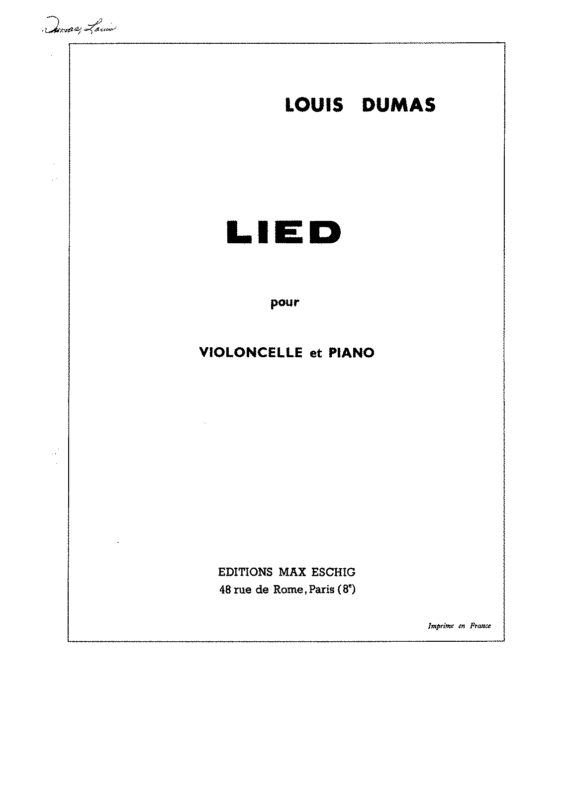 PMLP400485-Dumas - Lied for Cello and Piano score.pdf