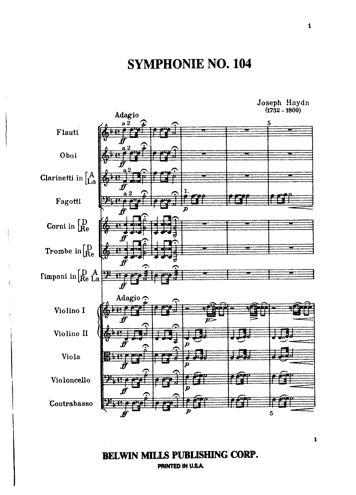 Haydn - Symphony No.104 Mvt.I and II (Kalmus reprint).pdf