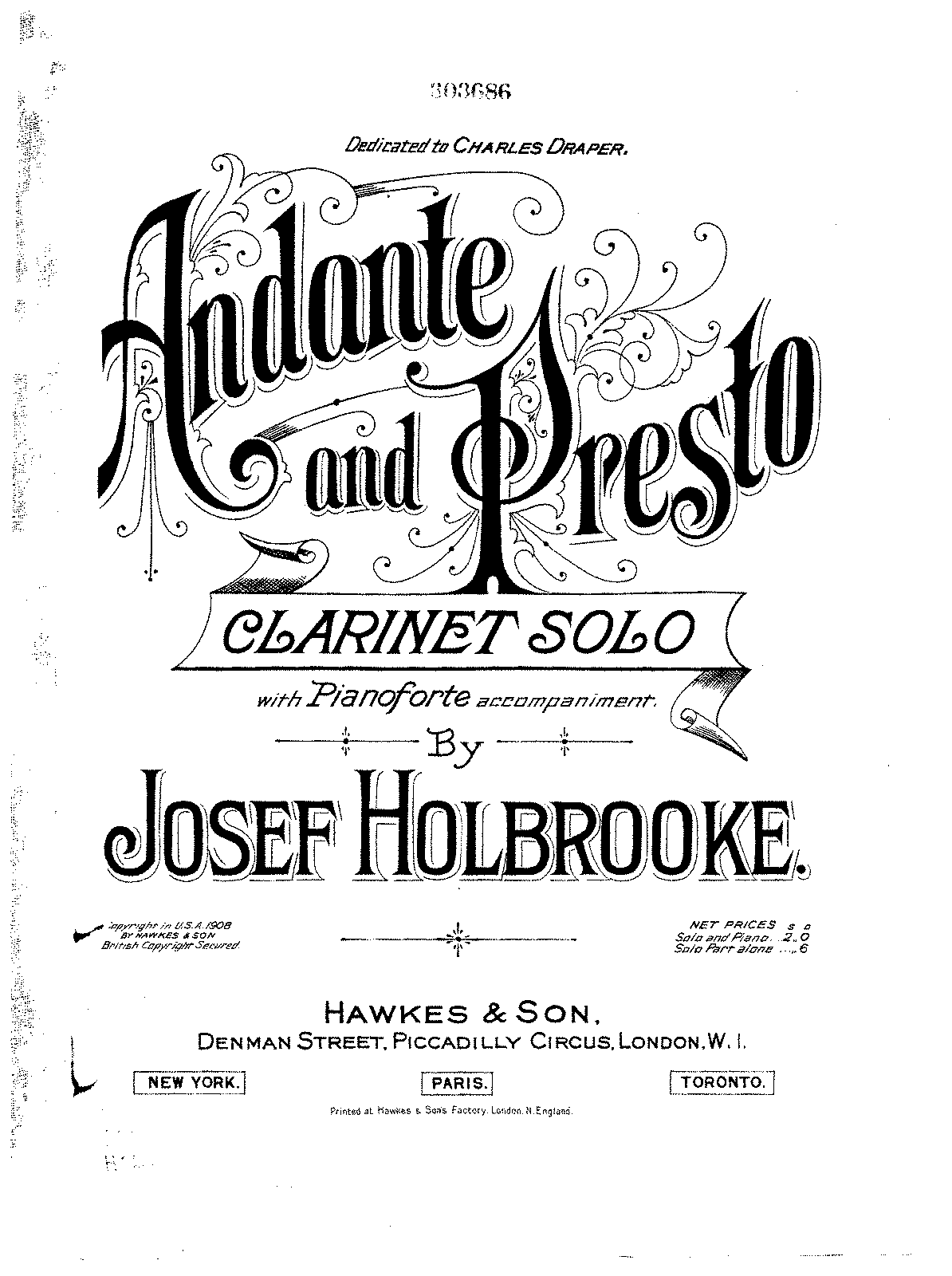 PMLP58294-Holbrooke - Andante and Presto for Clarinet and Piano.pdf