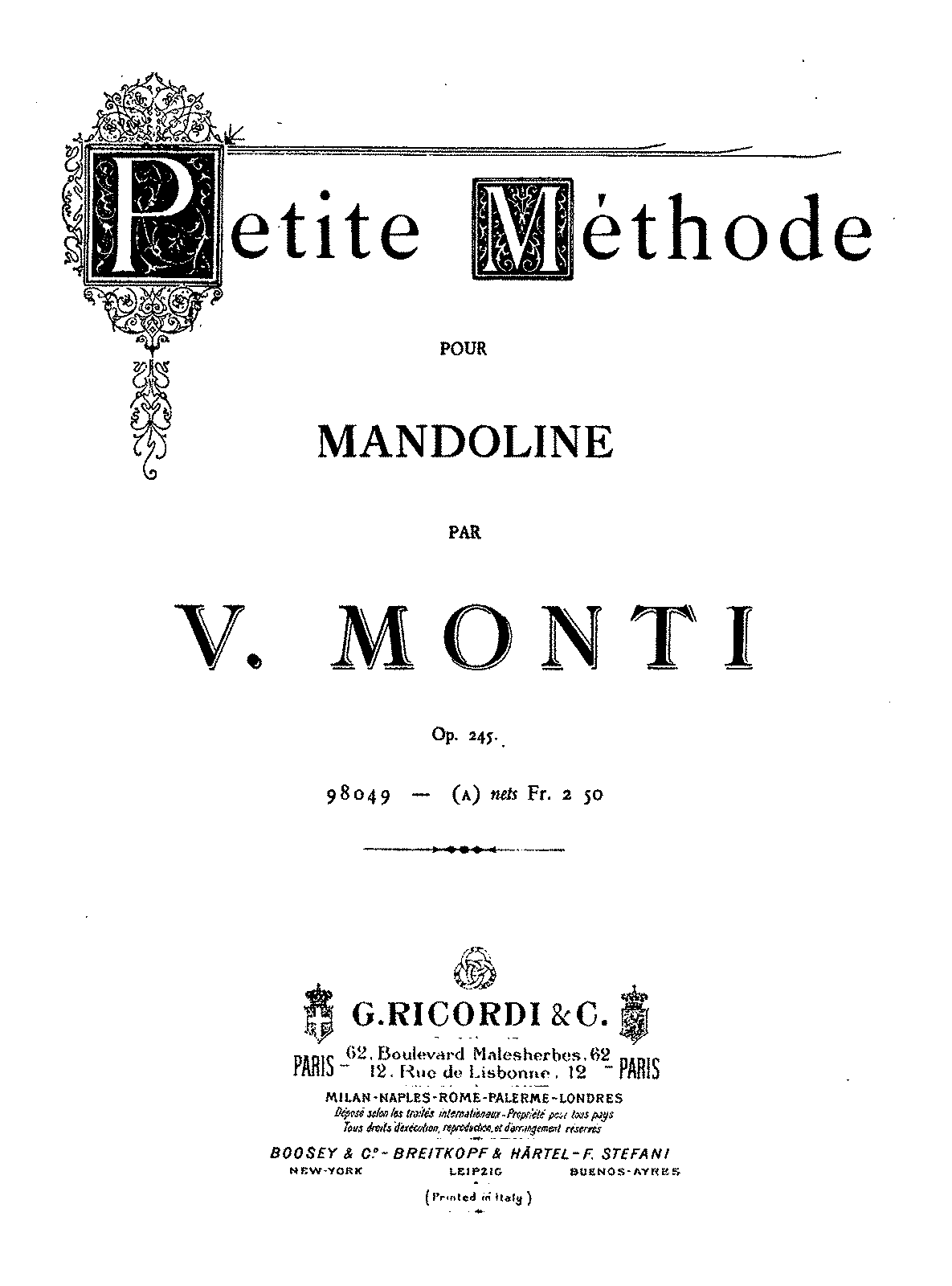 PMLP199881-Monti - Petite Methode for Mandoline Op245 (Ricordi).pdf