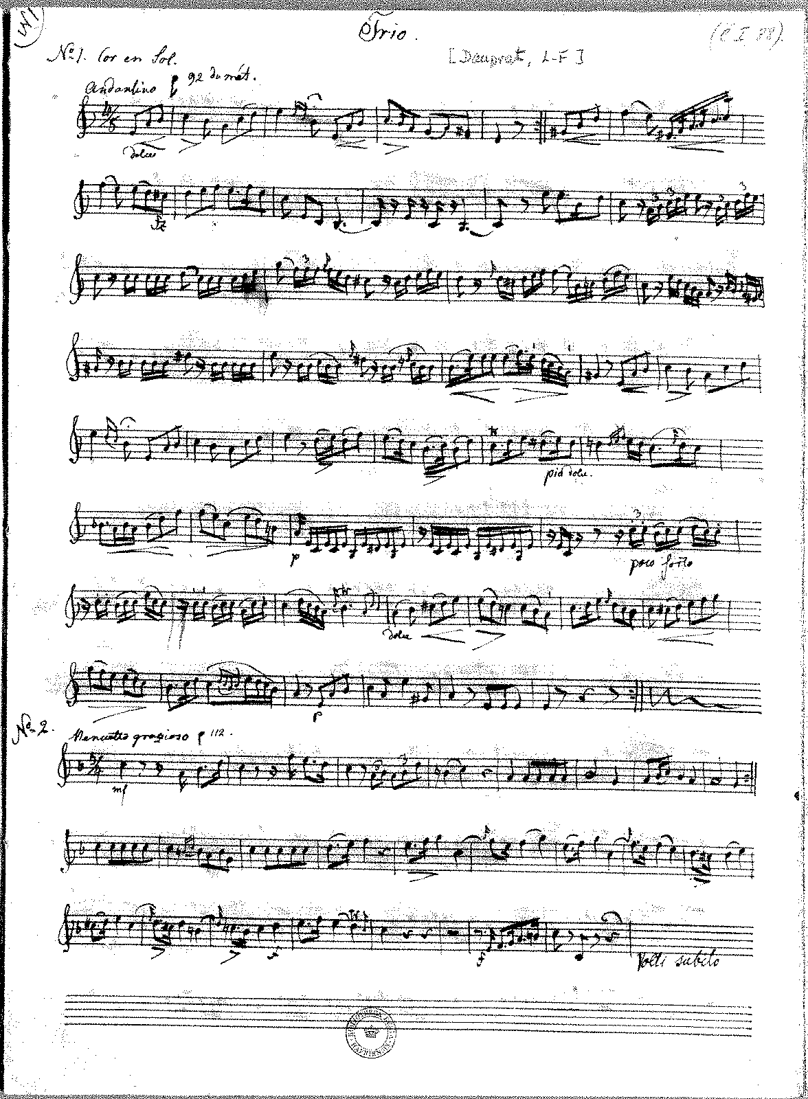 Dauprat, L.F. - Trio No. 1-6 (for horn).pdf