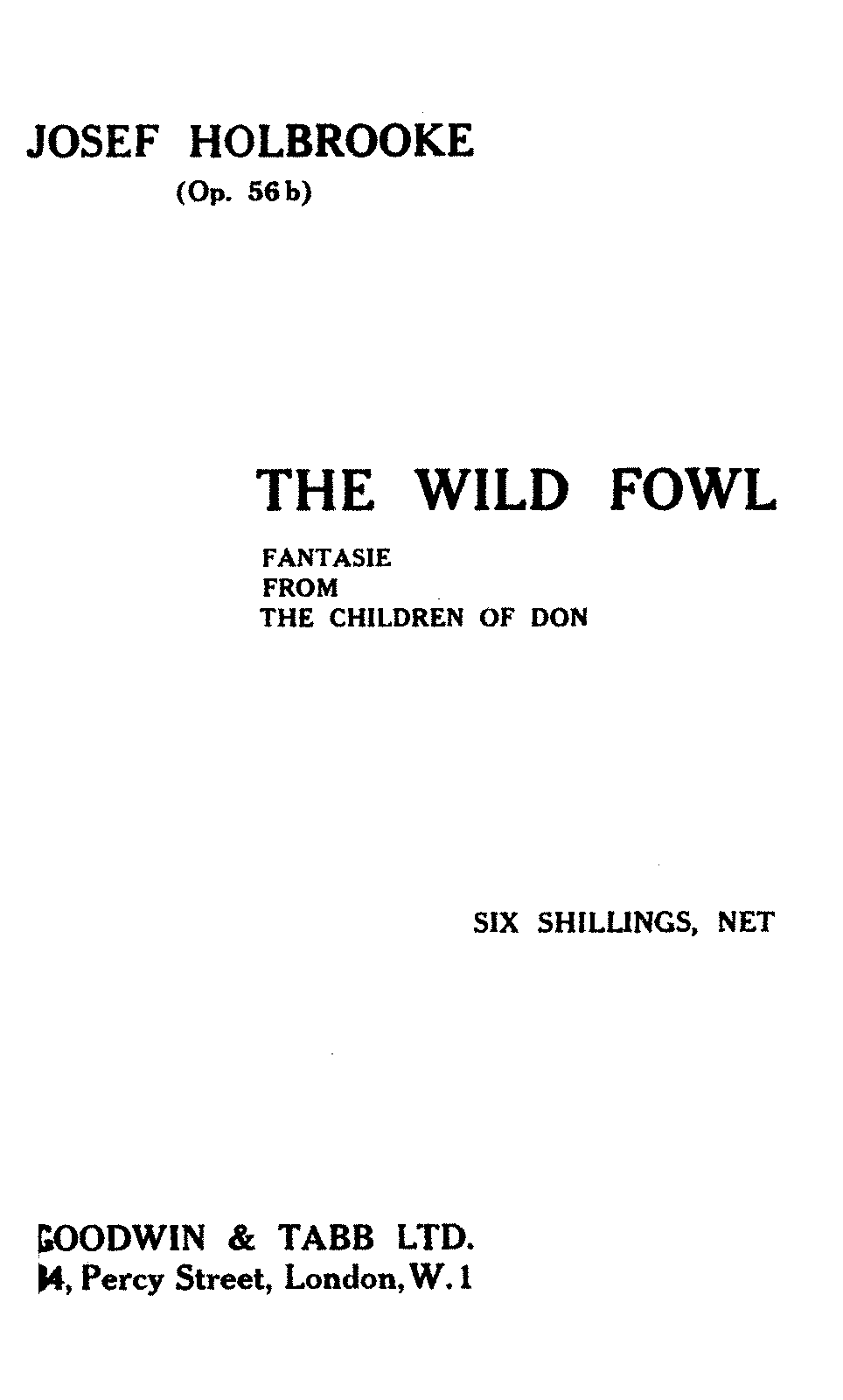 PMLP58249-Holbrooke - The Wild Fowl Fantasie from The Children of Don Op 56b.pdf