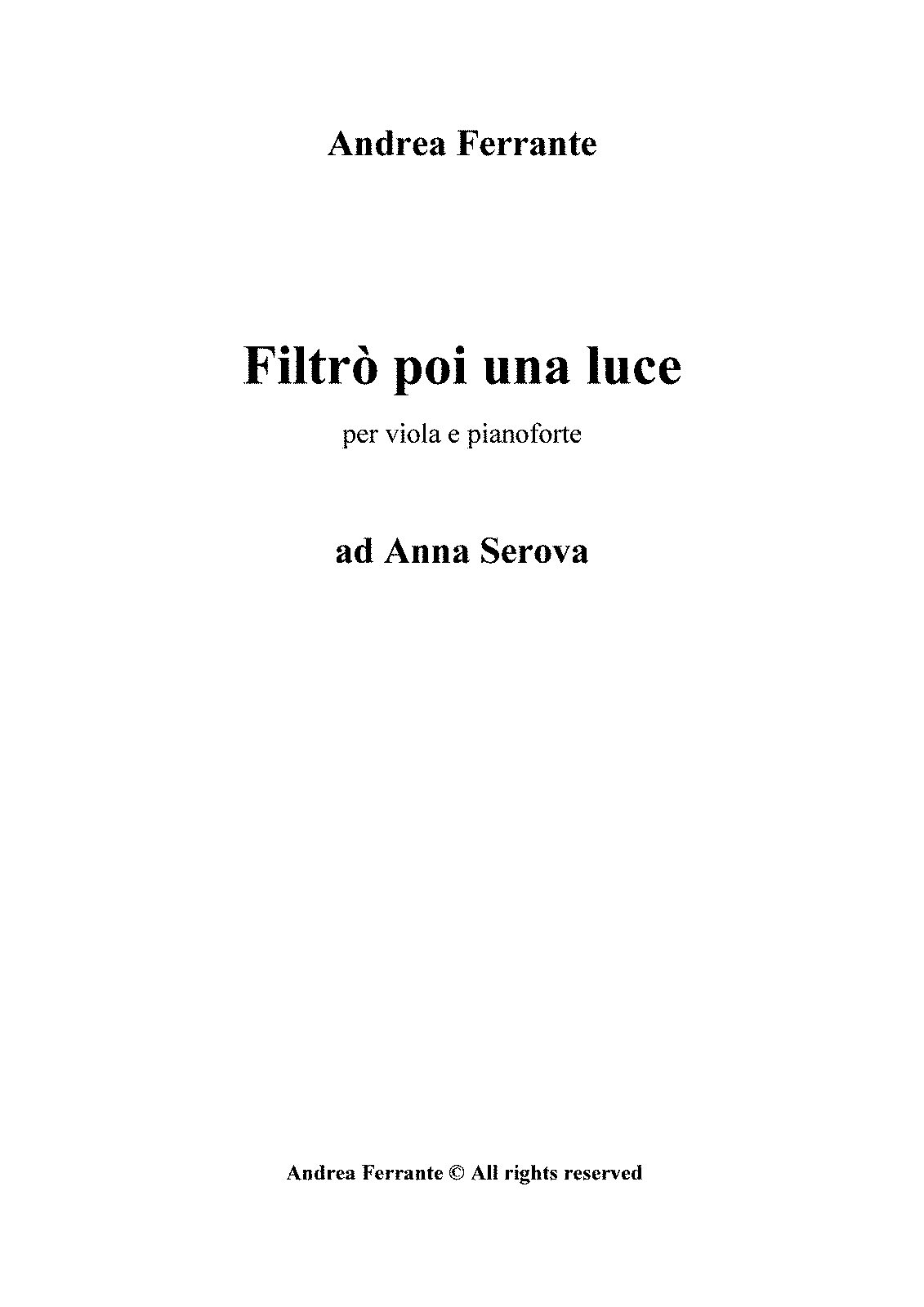 PMLP155096-A.Ferrante - Filtrò poi una luce - for viola and piano - SCORE.pdf