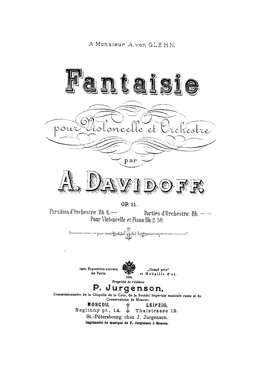 PMLP161020-Davidoff - Fantaisie for Cello and Orchestra Op11 orch score.pdf