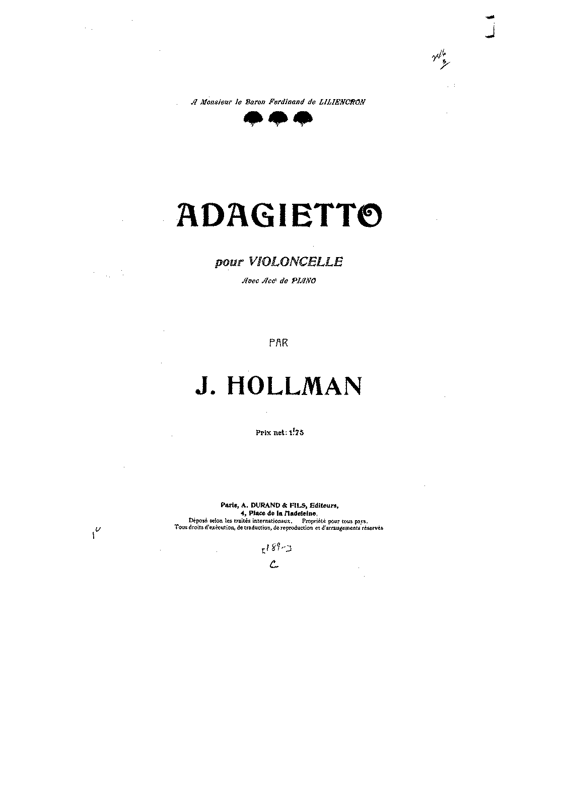 PMLP305730-Hollman - Adagietto for Cello and Piano pno.pdf