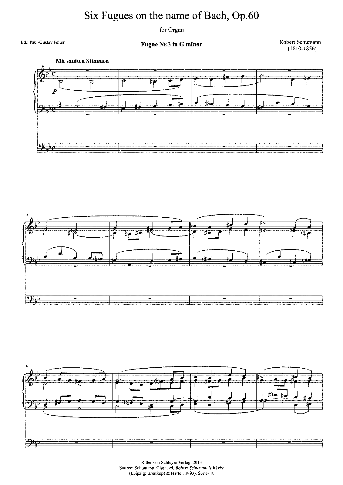 PMLP64378-Schumann; Six Fugues on the name of Bach, Op 60 III.pdf