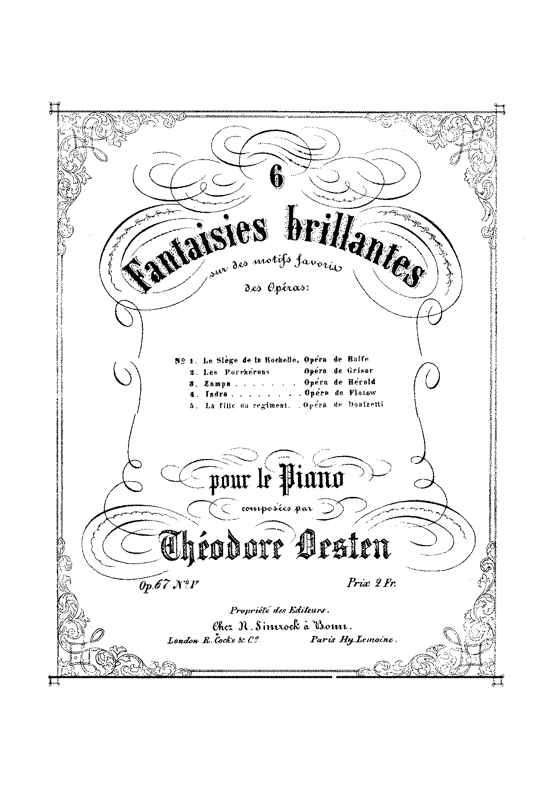 PMLP174533-Oesten - 67-5 Fantaisies Brillantes op.67 no 5 La Fille du Regiment - UNC.pdf