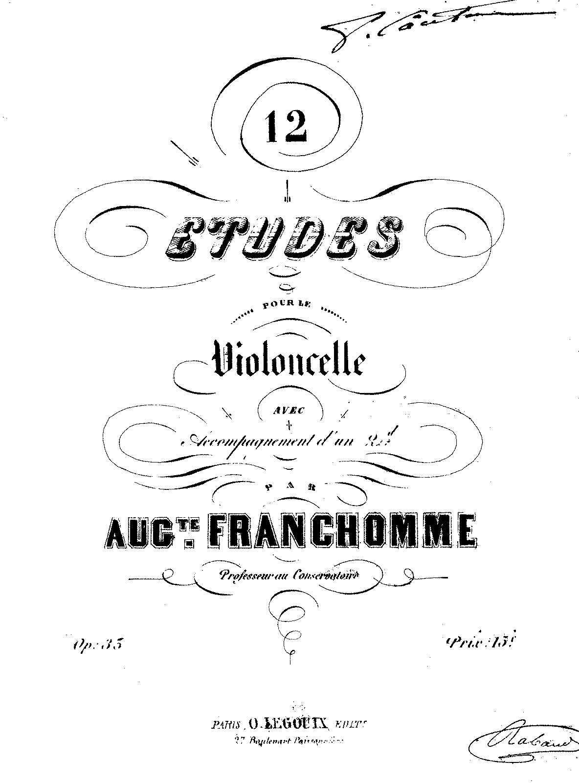 PMLP26306-Franchomme - 12 Etudes for Cello (and 2nd cello) Op35 Vc1.pdf