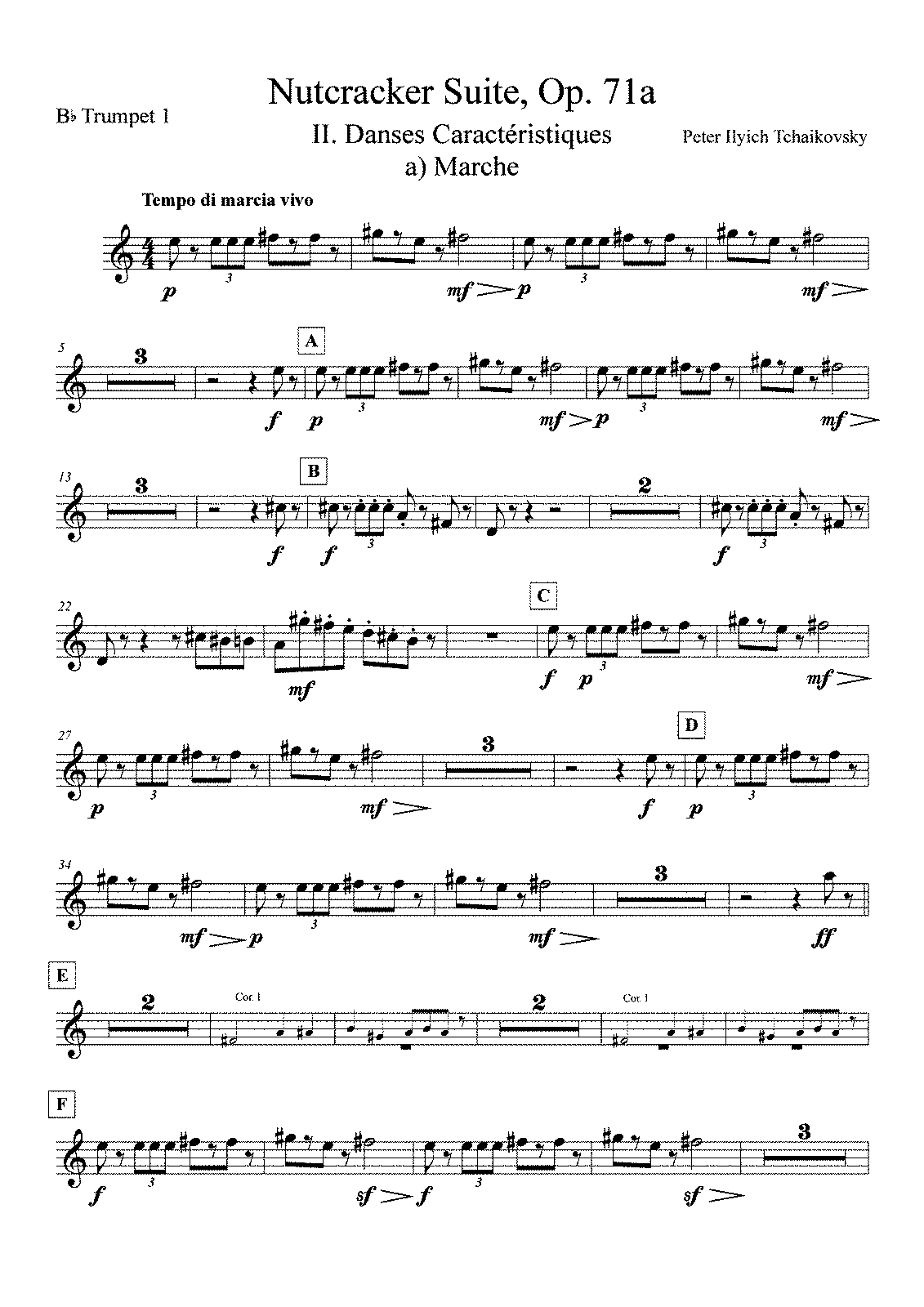 PMLP03607-Tchaikovsky - The Nutcracker Suite - Op71a - Bb Trumpet 1.pdf