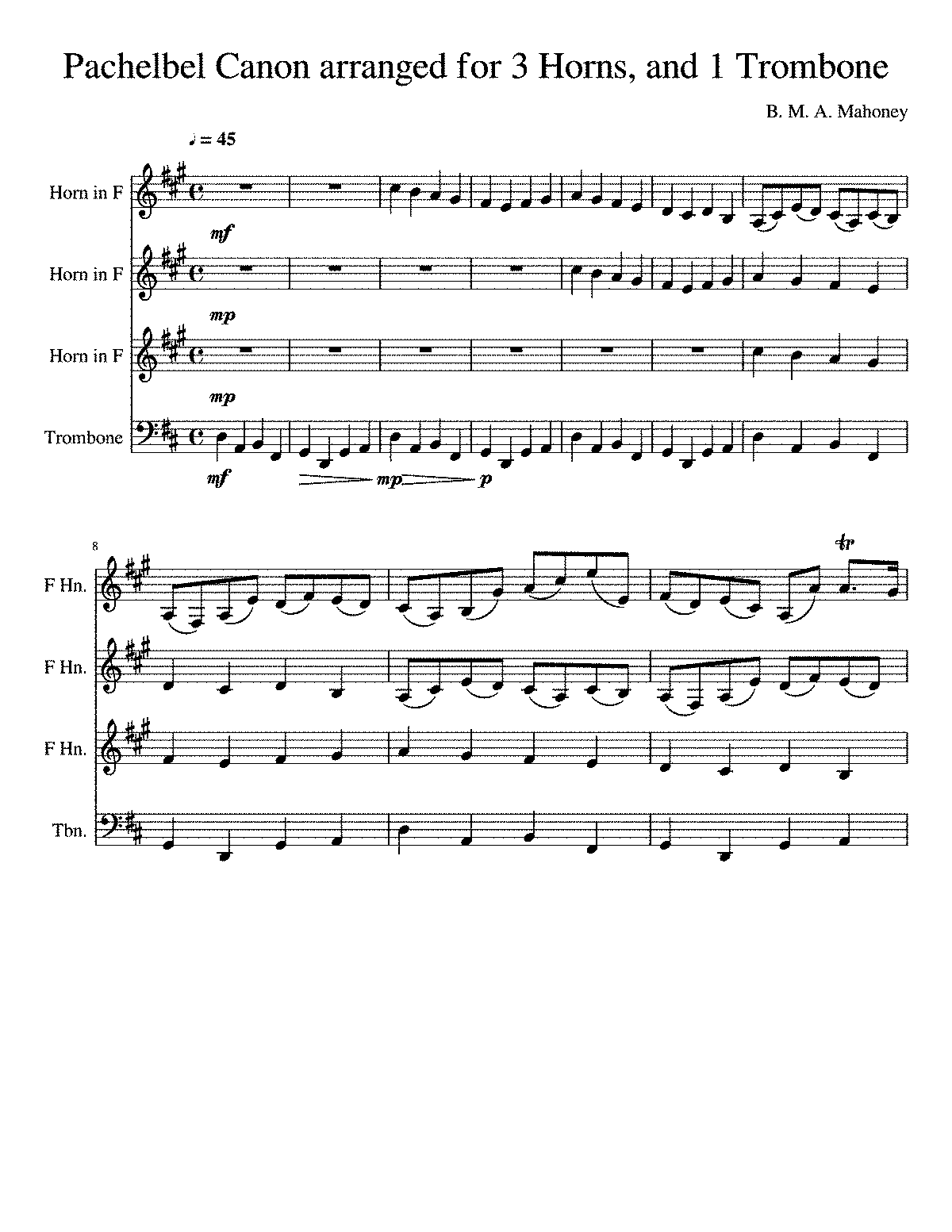 PMLP04611-Canon in D Pachelbel Arranged for 3 Horns and 1 Trombone.pdf