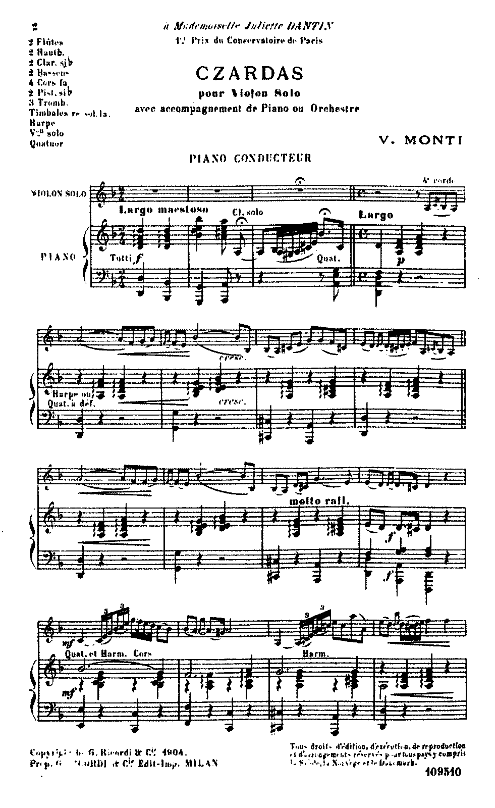 PMLP13438-Monti - Czardas for Violin and Orchestra (Ricordi 1904) 00 Piano Cond.pdf