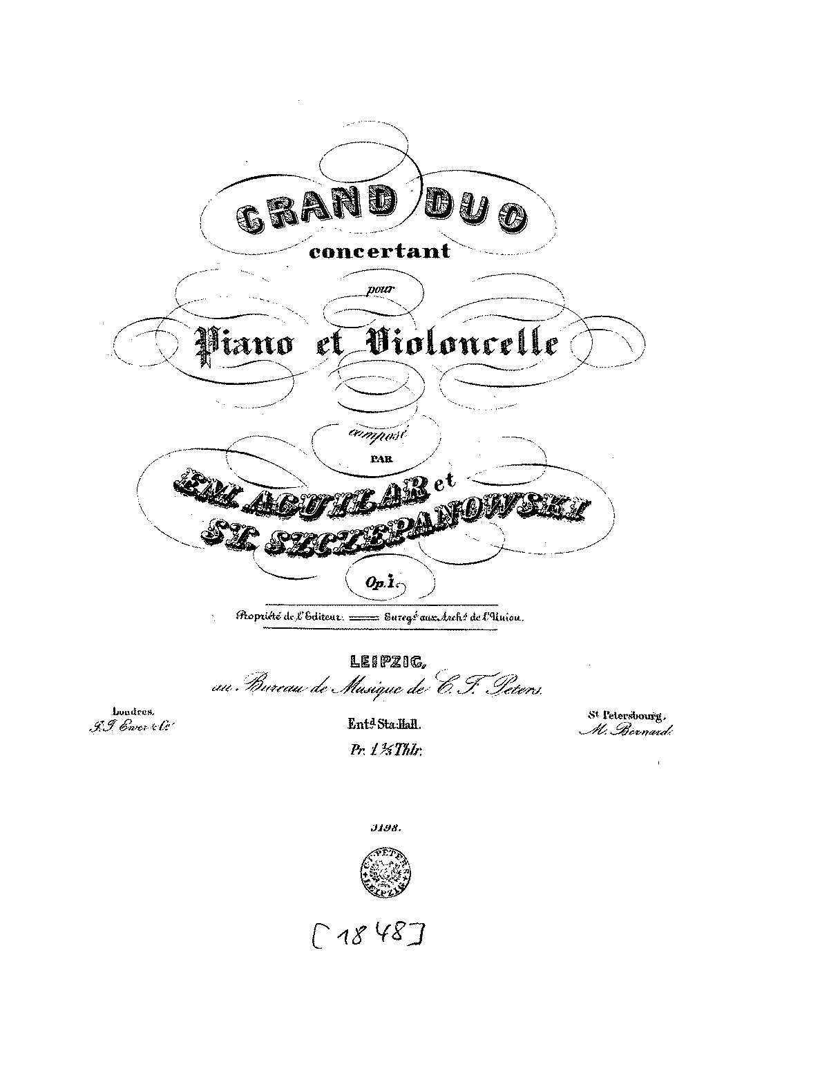 PMLP205099-Aguilar-Szezepanowski - Grand Duo Concertant for Piano and Cello Op1 pno.pdf