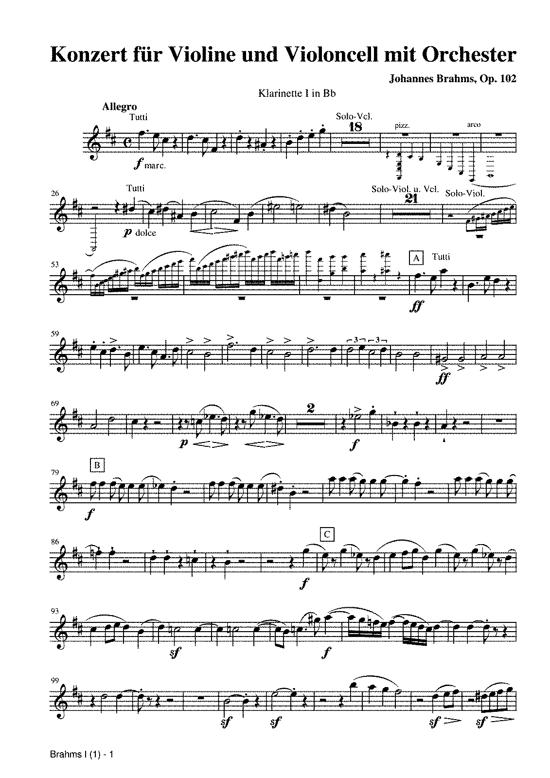 PMLP06525-Brahms - Concerto for Violin and Cello in A minor, Op.102 - Clarinet I.pdf