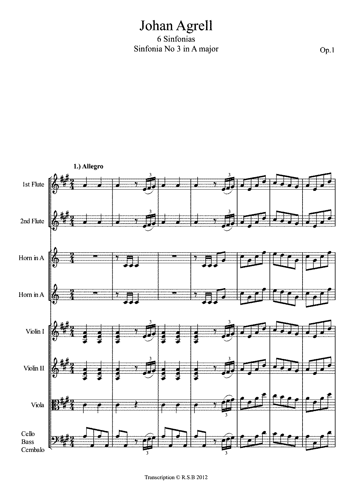PMLP234228-Agrell Sinfonia No 3 in A - Allegro.pdf