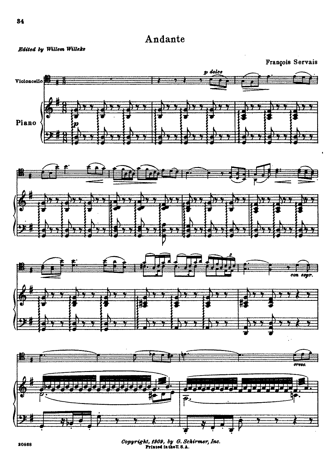PMLP236821-Servais.Fr - Andante (Willeke) for cello and piano.pdf